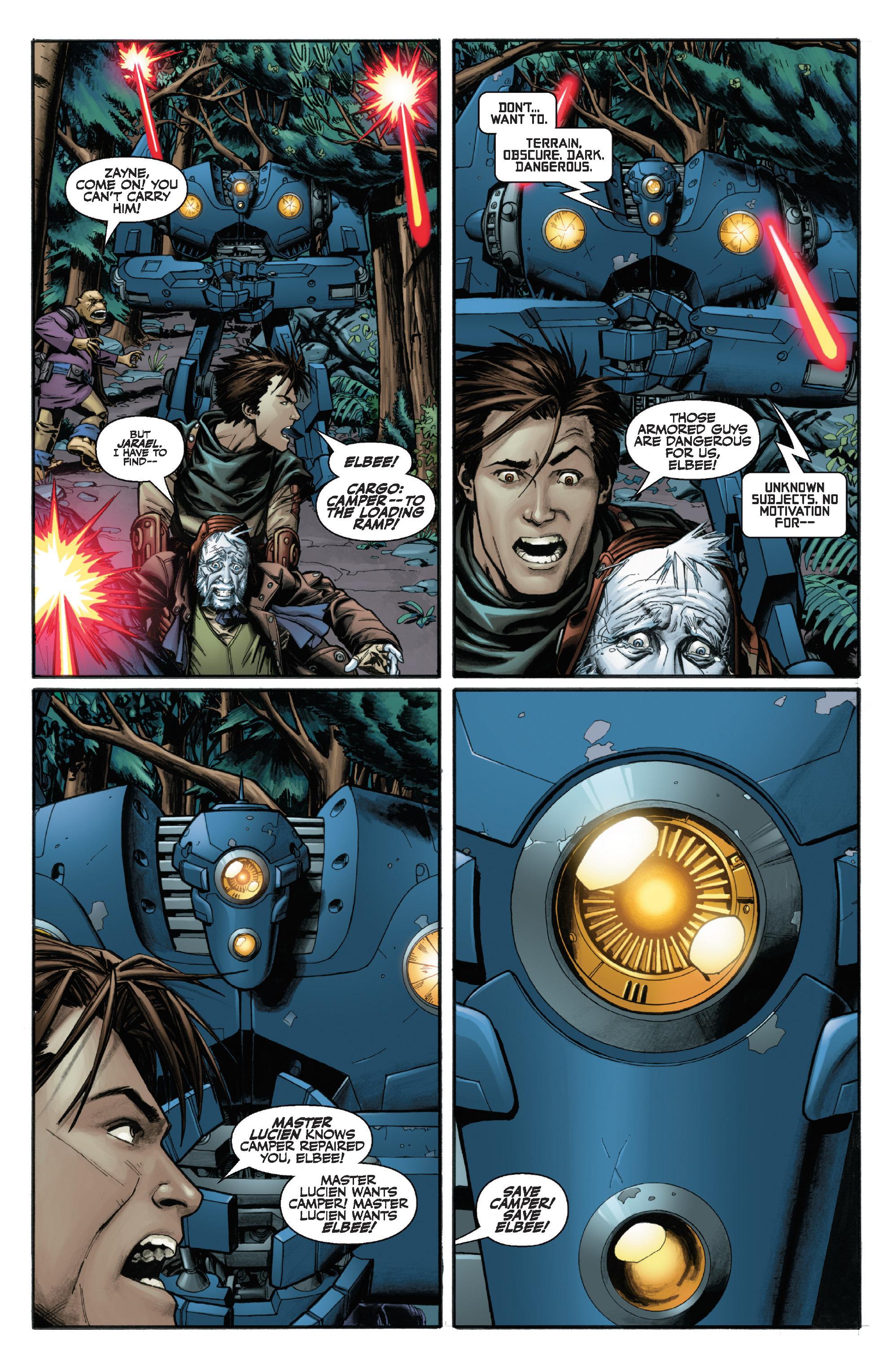 Read online Star Wars Omnibus comic -  Issue # Vol. 29 - 156