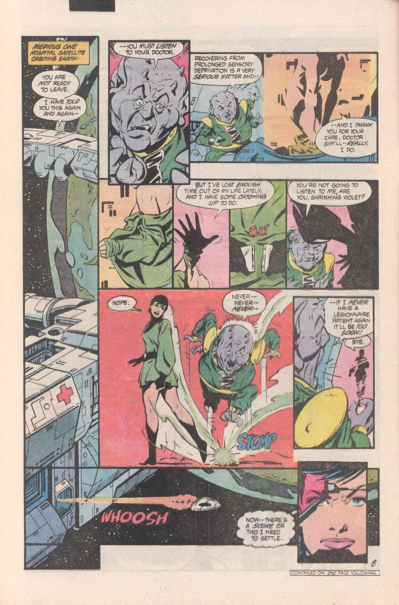 Legion of Super-Heroes (1980) 312 Page 8