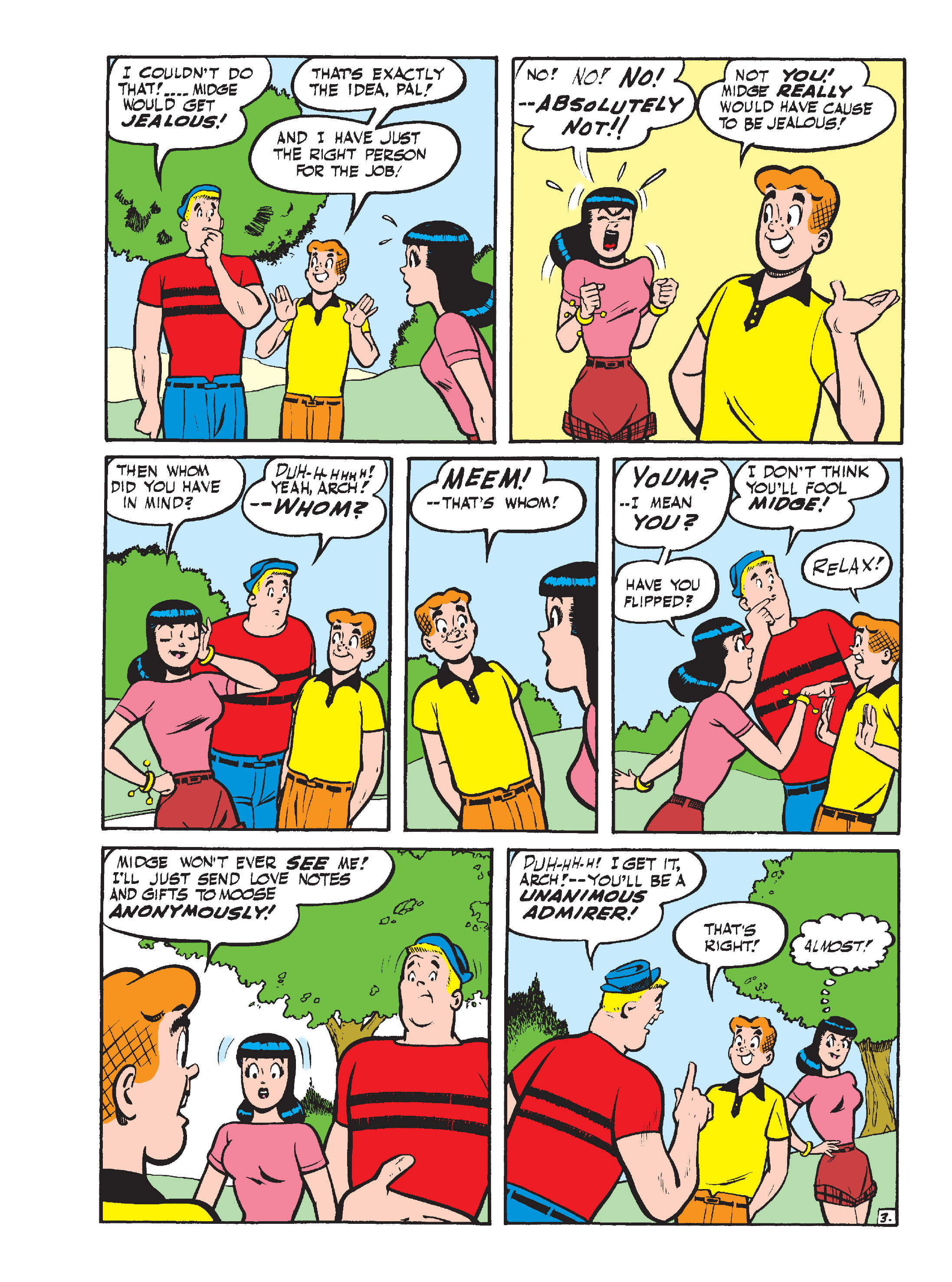 Read online Archie's Funhouse Double Digest comic -  Issue #15 - 126