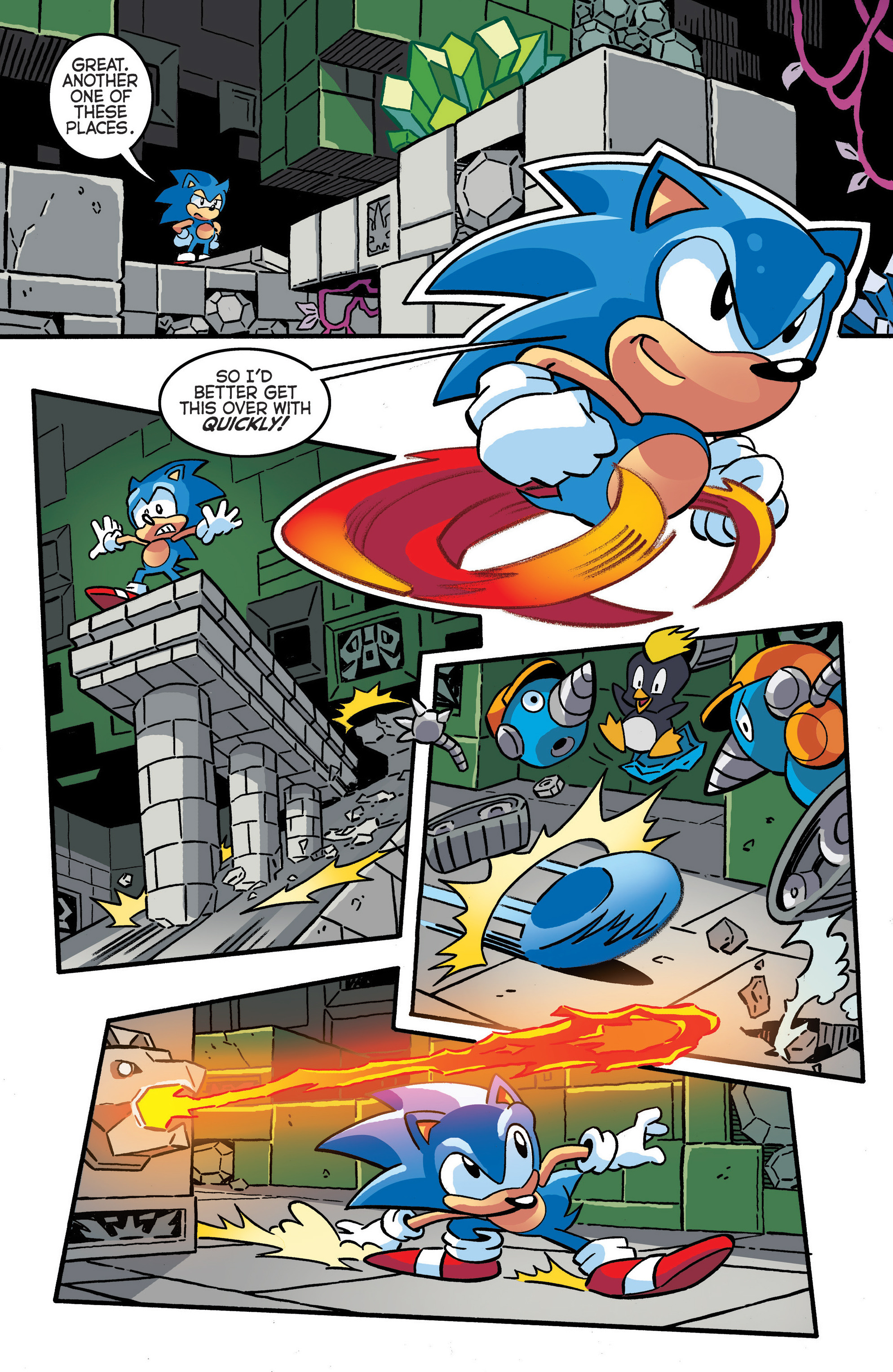 Read online Sonic The Hedgehog comic -  Issue #288 - 7
