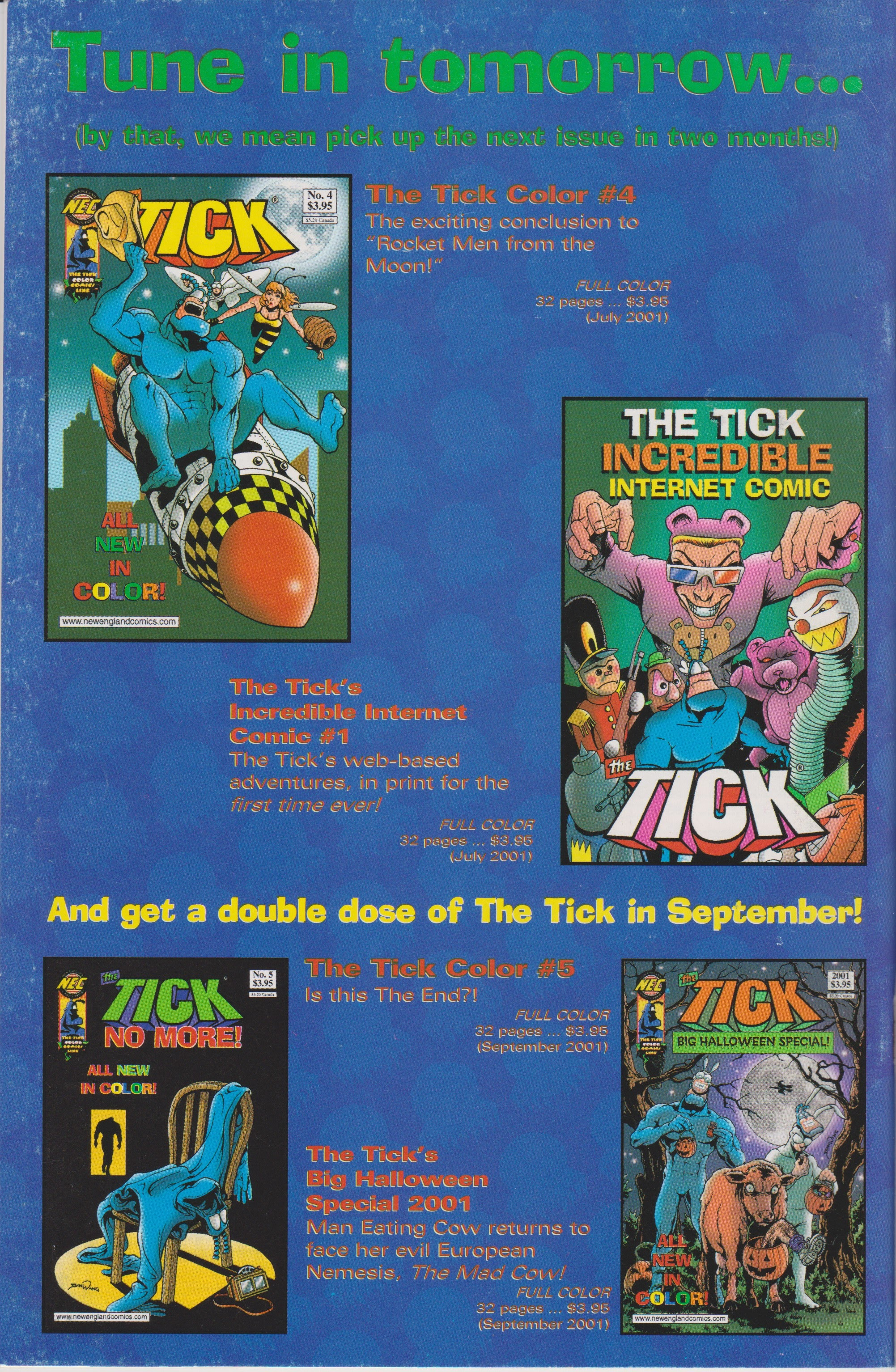 The Tick Color 3 Page 36