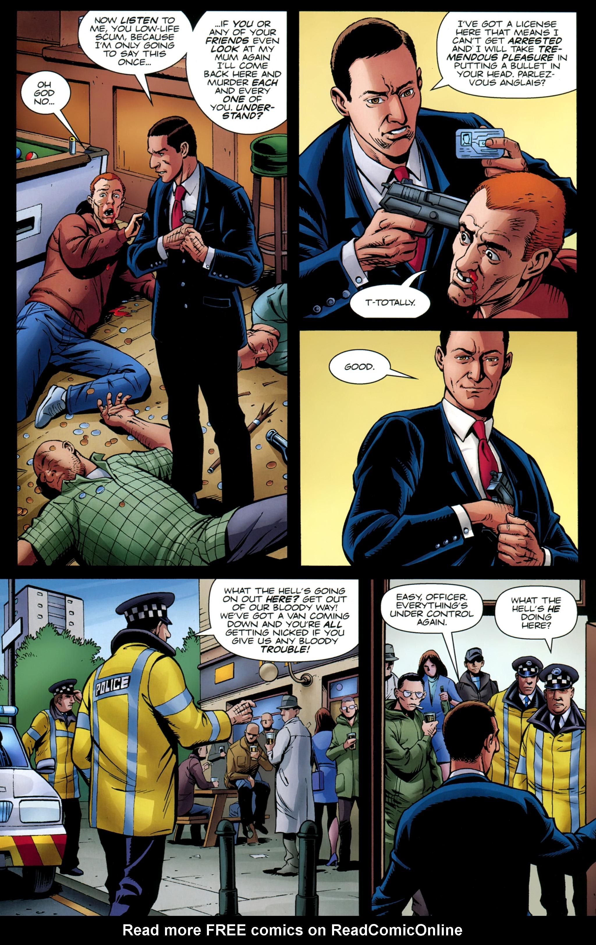 Read online Secret Service comic -  Issue #5 - 9