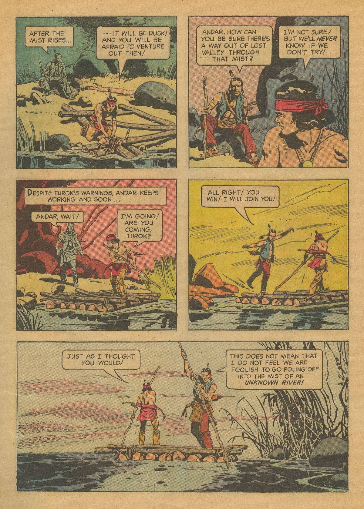 Read online Turok, Son of Stone comic -  Issue #37 - 5
