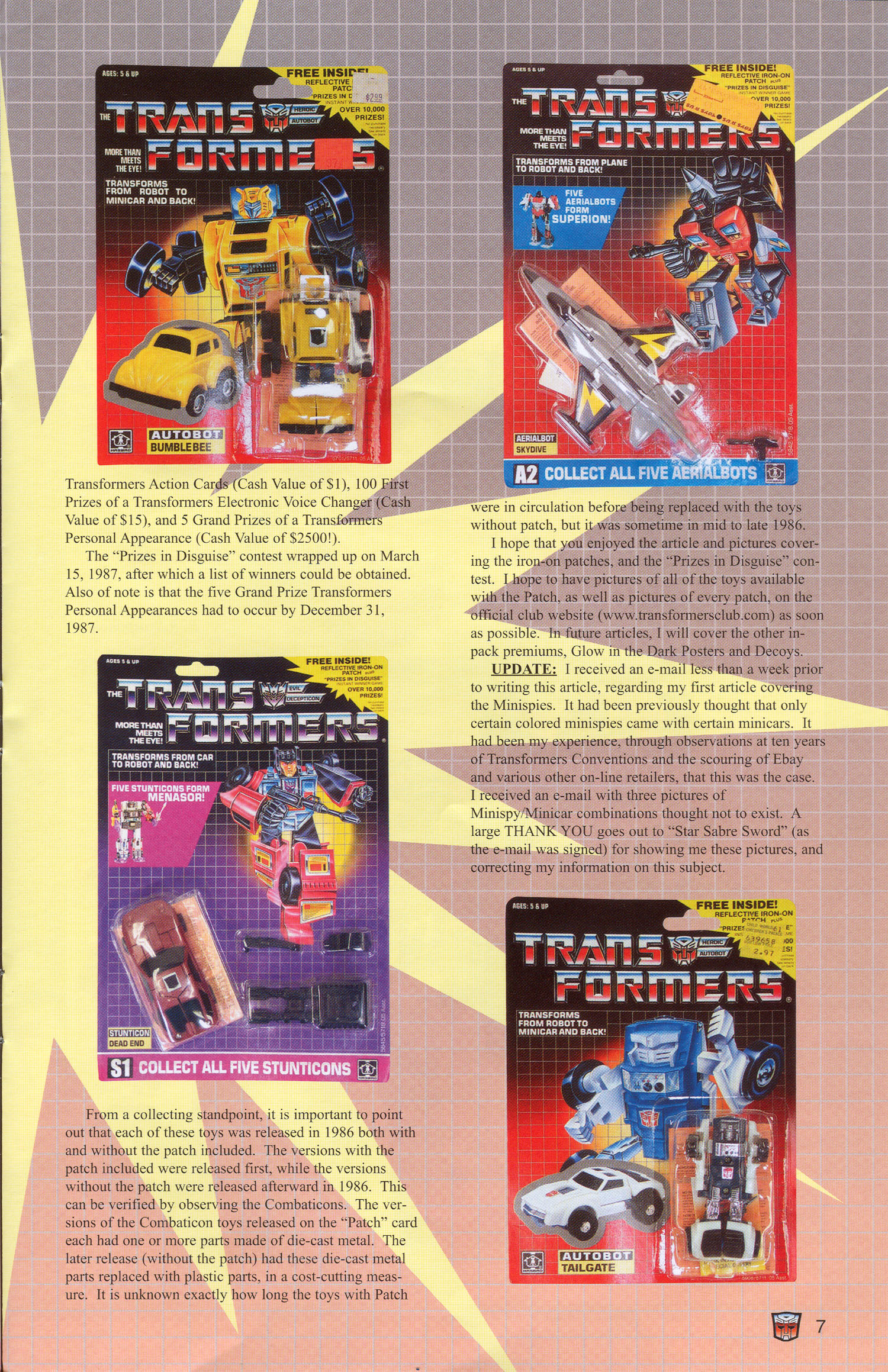 Read online Transformers: Collectors' Club comic -  Issue #3 - 7