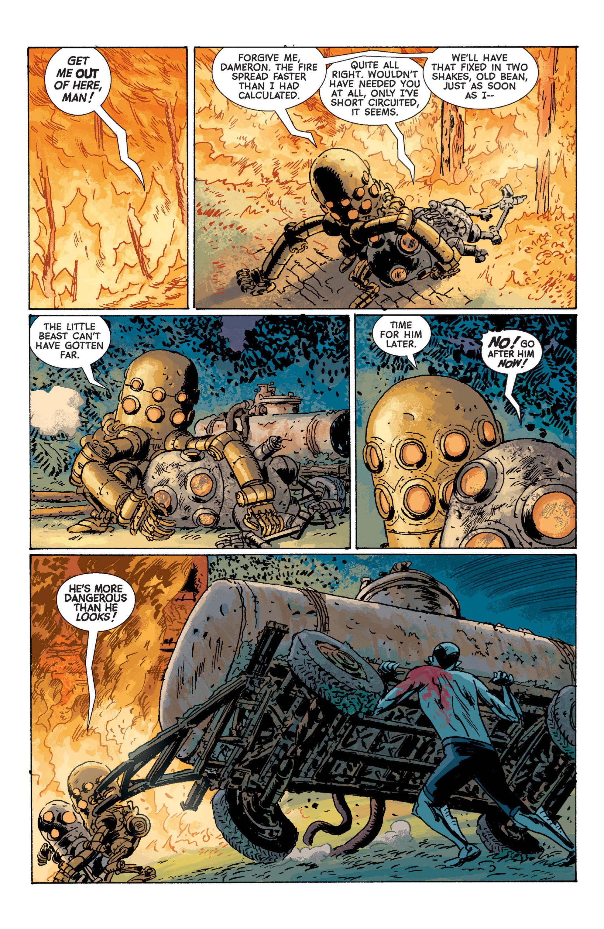 Read online B.P.R.D. (2003) comic -  Issue # TPB 7 - 124