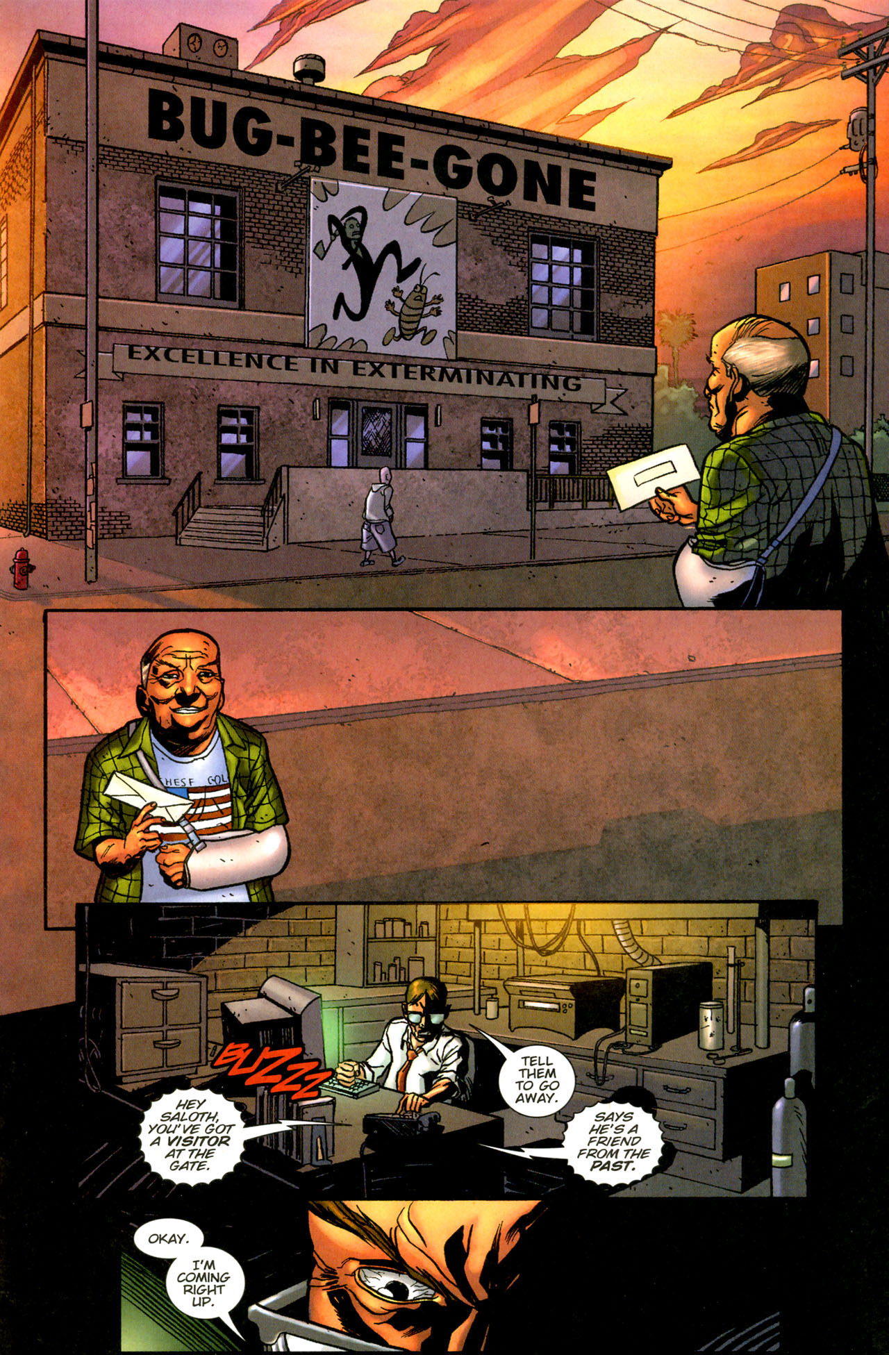 Read online The Exterminators comic -  Issue #12 - 10