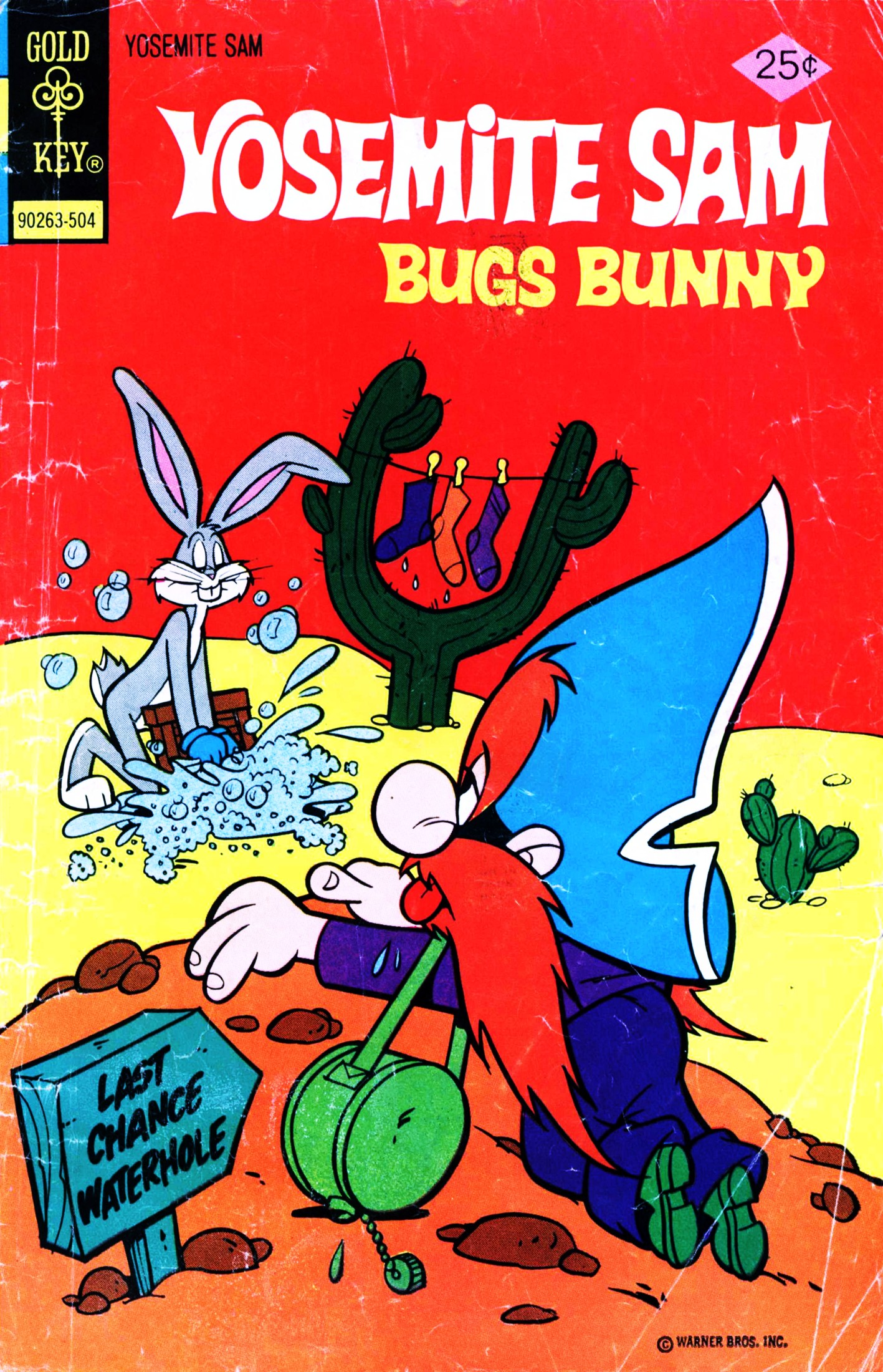 Yosemite Sam and Bugs Bunny 27 Page 1