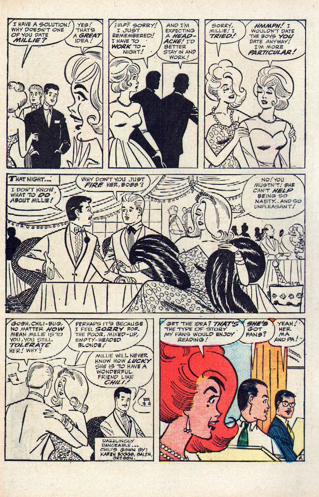 Read online Millie the Model comic -  Issue # Annual 2 - 66