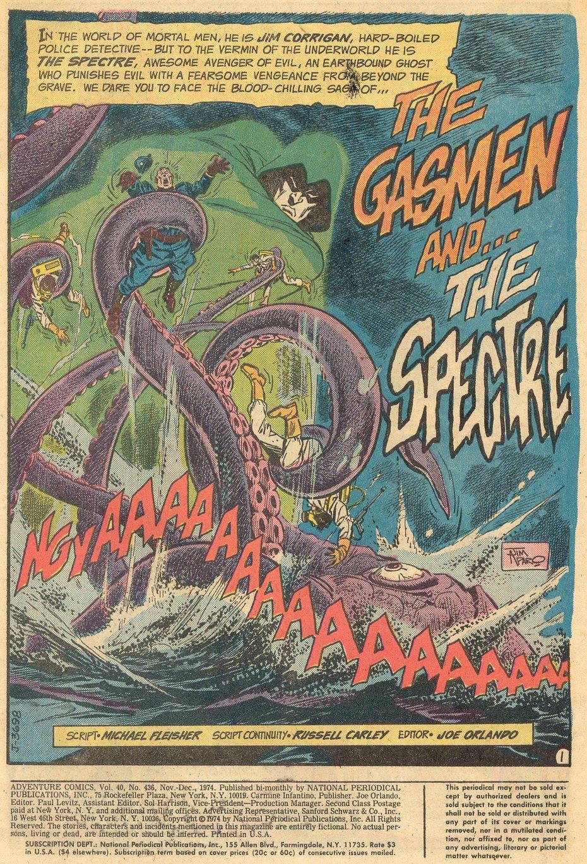 Read online Adventure Comics (1938) comic -  Issue #436 - 2