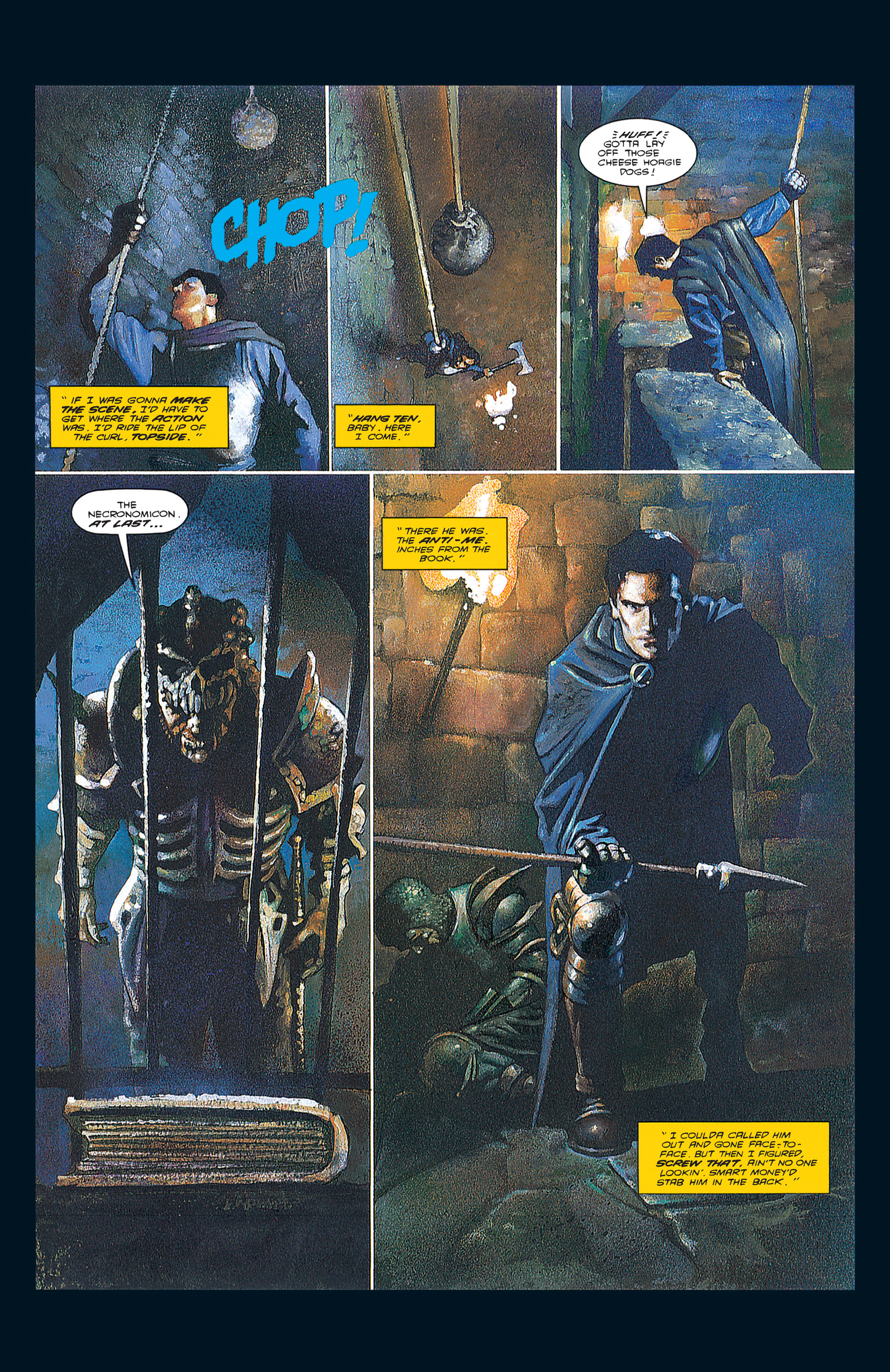 Read online Army of Darkness (1992) comic -  Issue #3 - 20