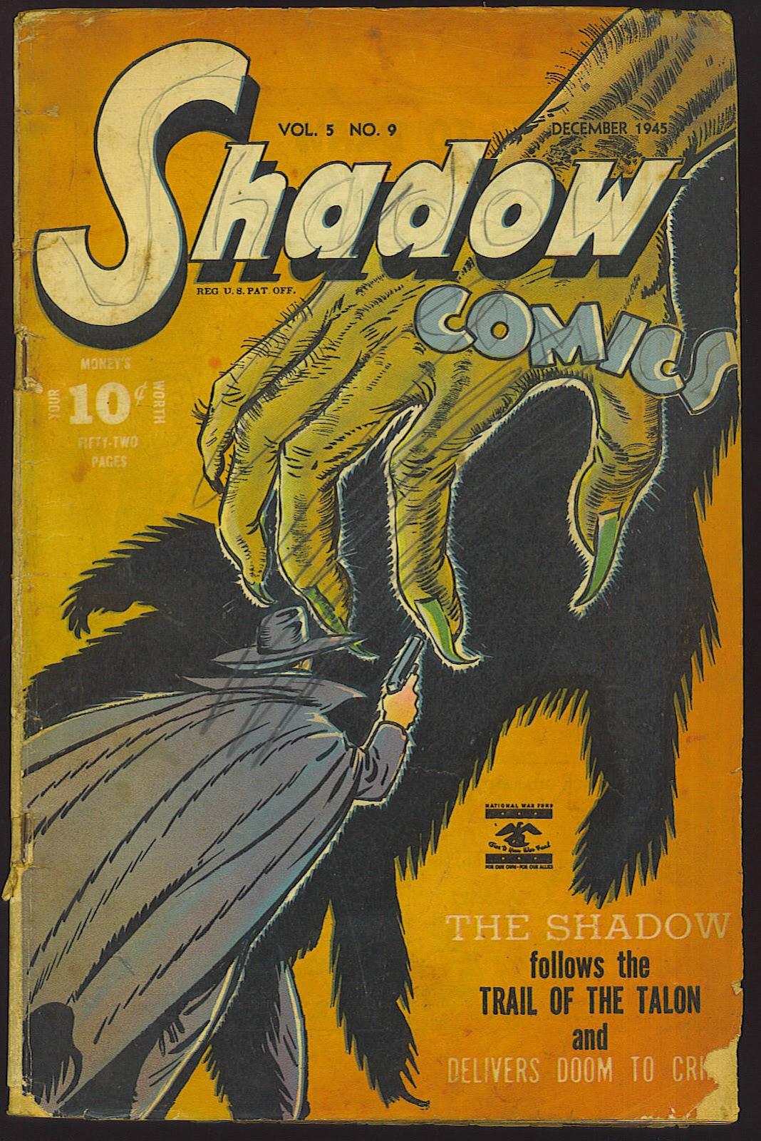 Shadow Comics 57 Page 1