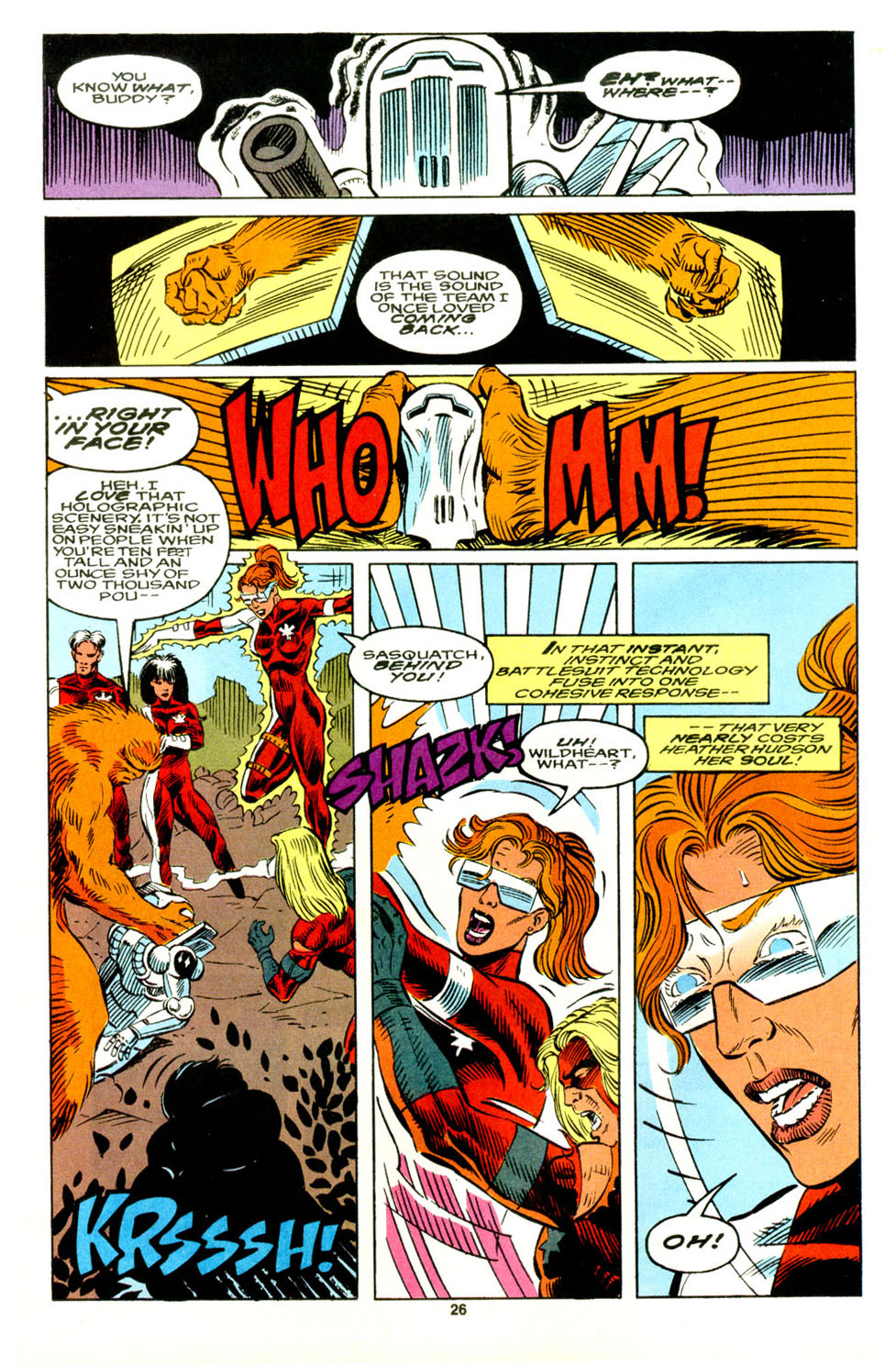 Read online Alpha Flight (1983) comic -  Issue #129 - 20