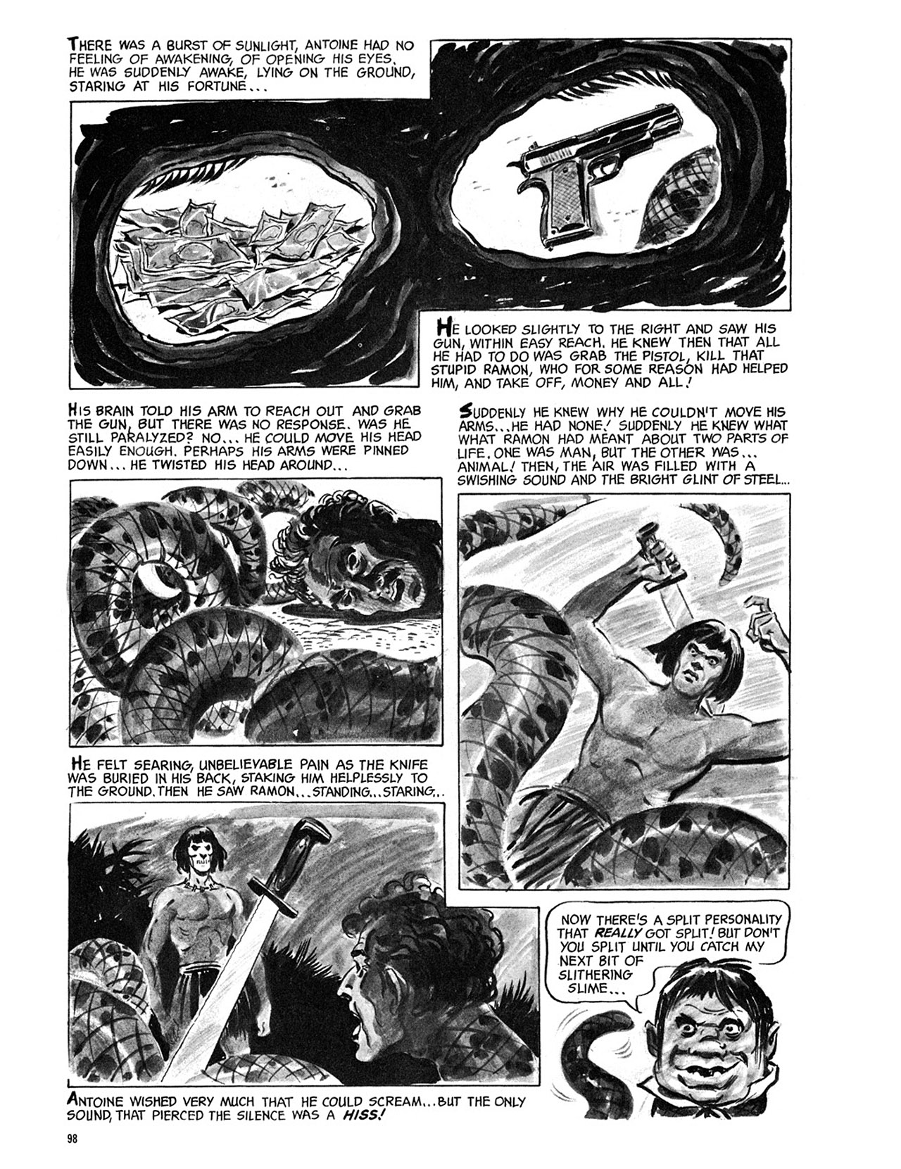 Read online Eerie Archives comic -  Issue # TPB 3 - 99