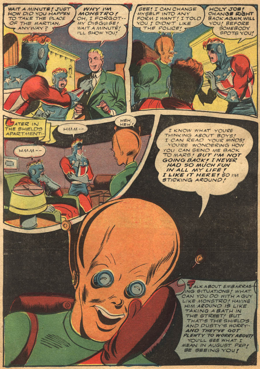 Comic Pep Comics issue 40