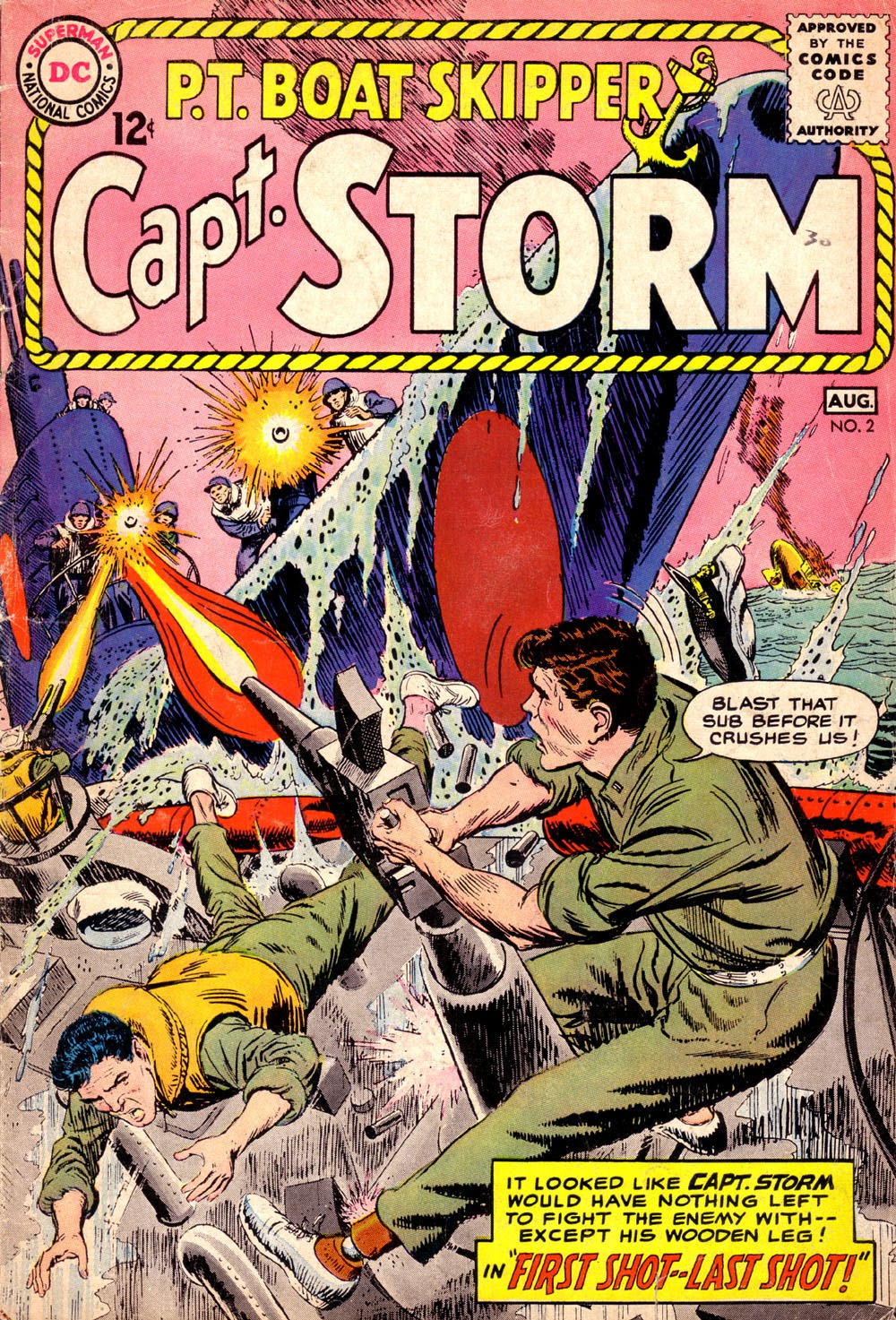 Capt. Storm issue 2 - Page 1