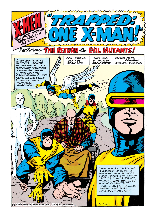 Read online Uncanny X-Men (1963) comic -  Issue #5 - 2