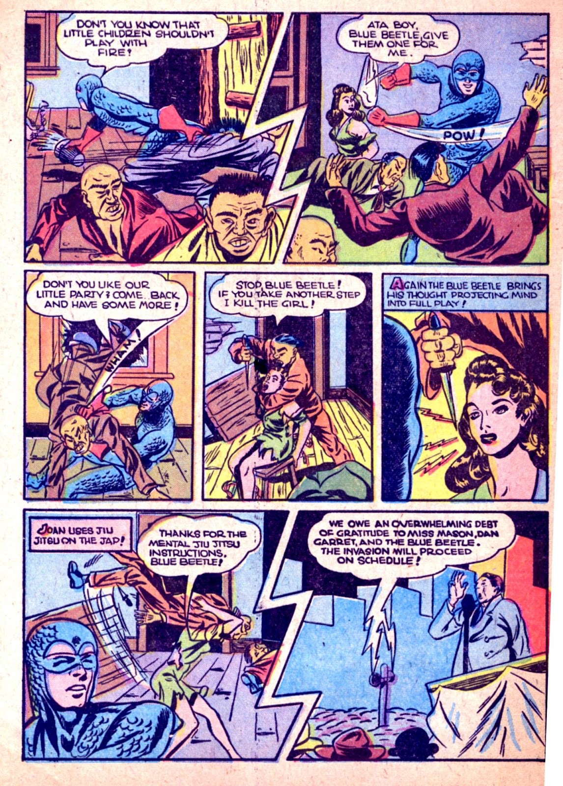 The Blue Beetle issue 31 - Page 48