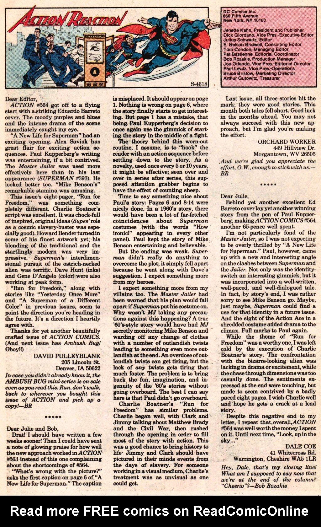 Action Comics (1938) 568 Page 20