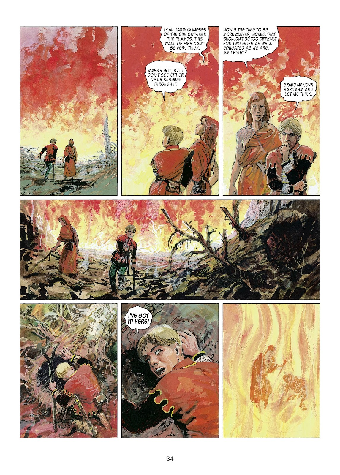 Read online Thorgal comic -  Issue #22 - 36