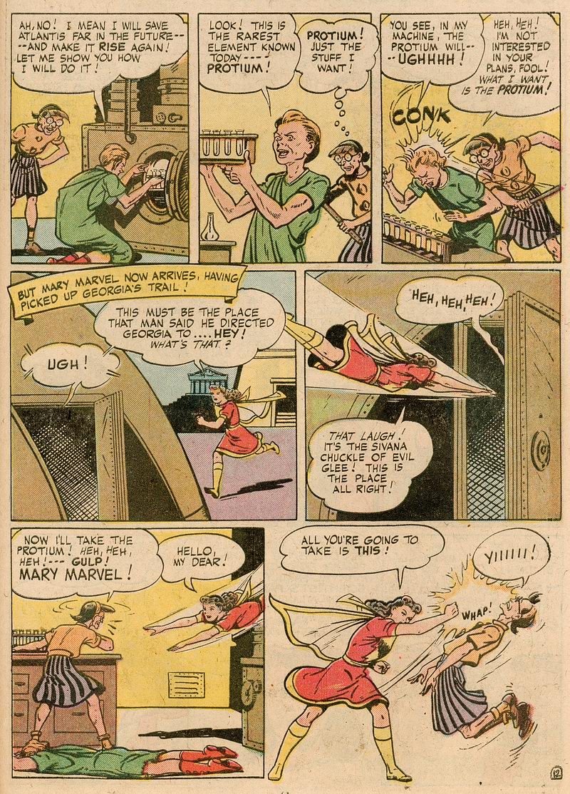 Read online Shazam! (1973) comic -  Issue #12 - 52
