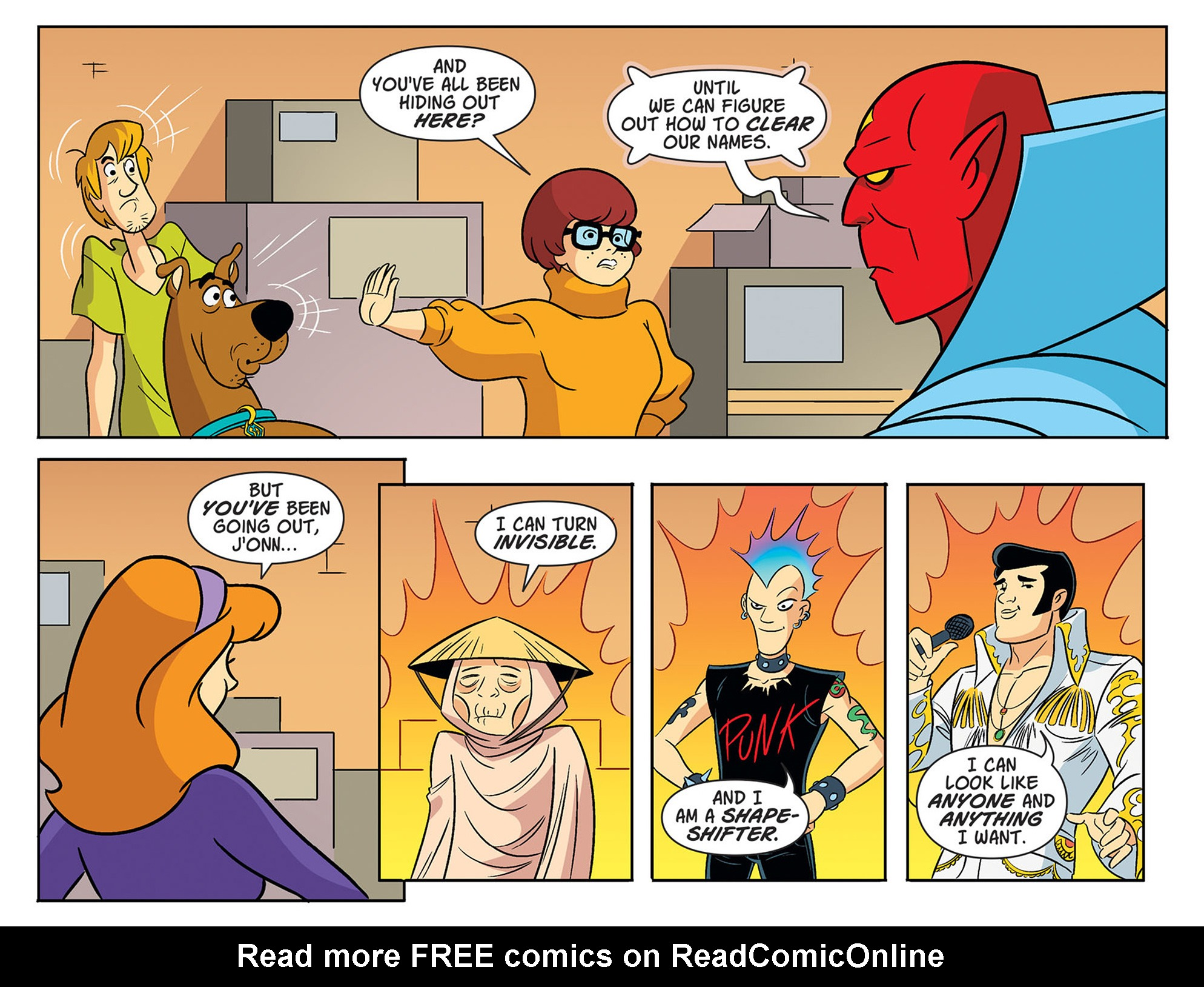 Read online Scooby-Doo! Team-Up comic -  Issue #47 - 16