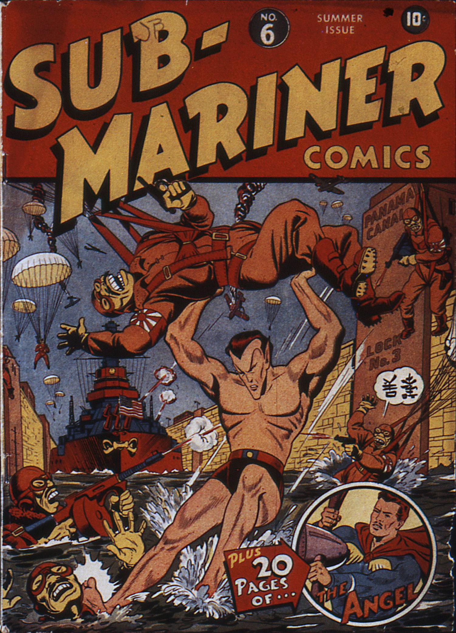 Sub-Mariner Comics 6 Page 1
