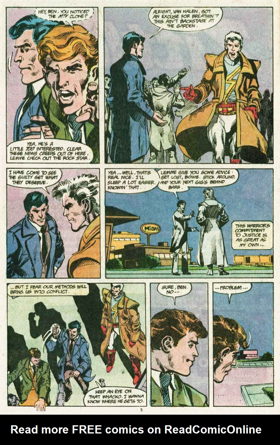 Read online Justice (1986) comic -  Issue #12 - 6