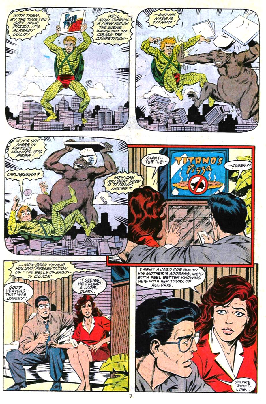 Read online Adventures of Superman (1987) comic -  Issue #487 - 8
