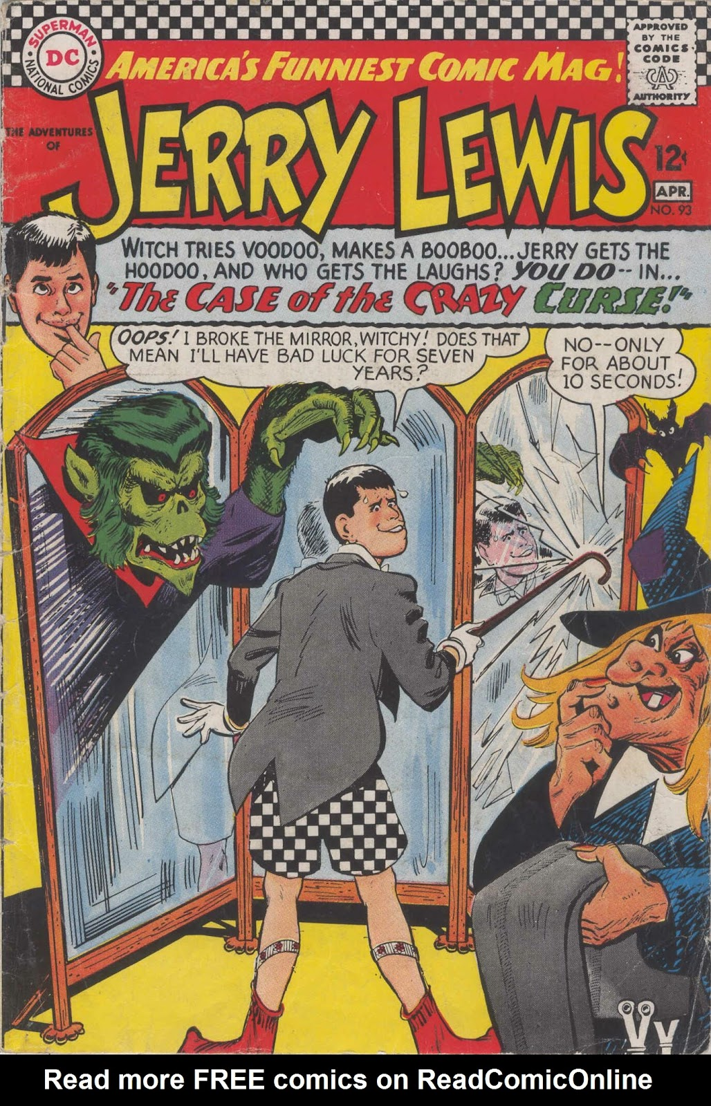 The Adventures of Jerry Lewis 93 Page 1