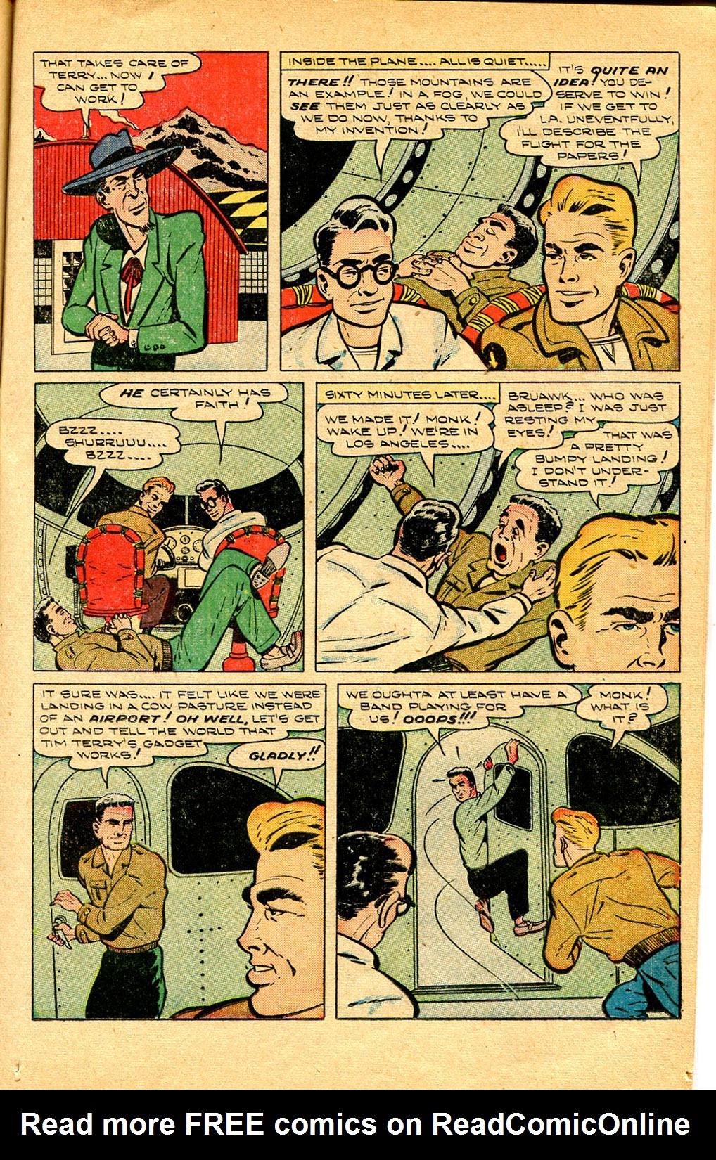 Read online Shadow Comics comic -  Issue #97 - 19