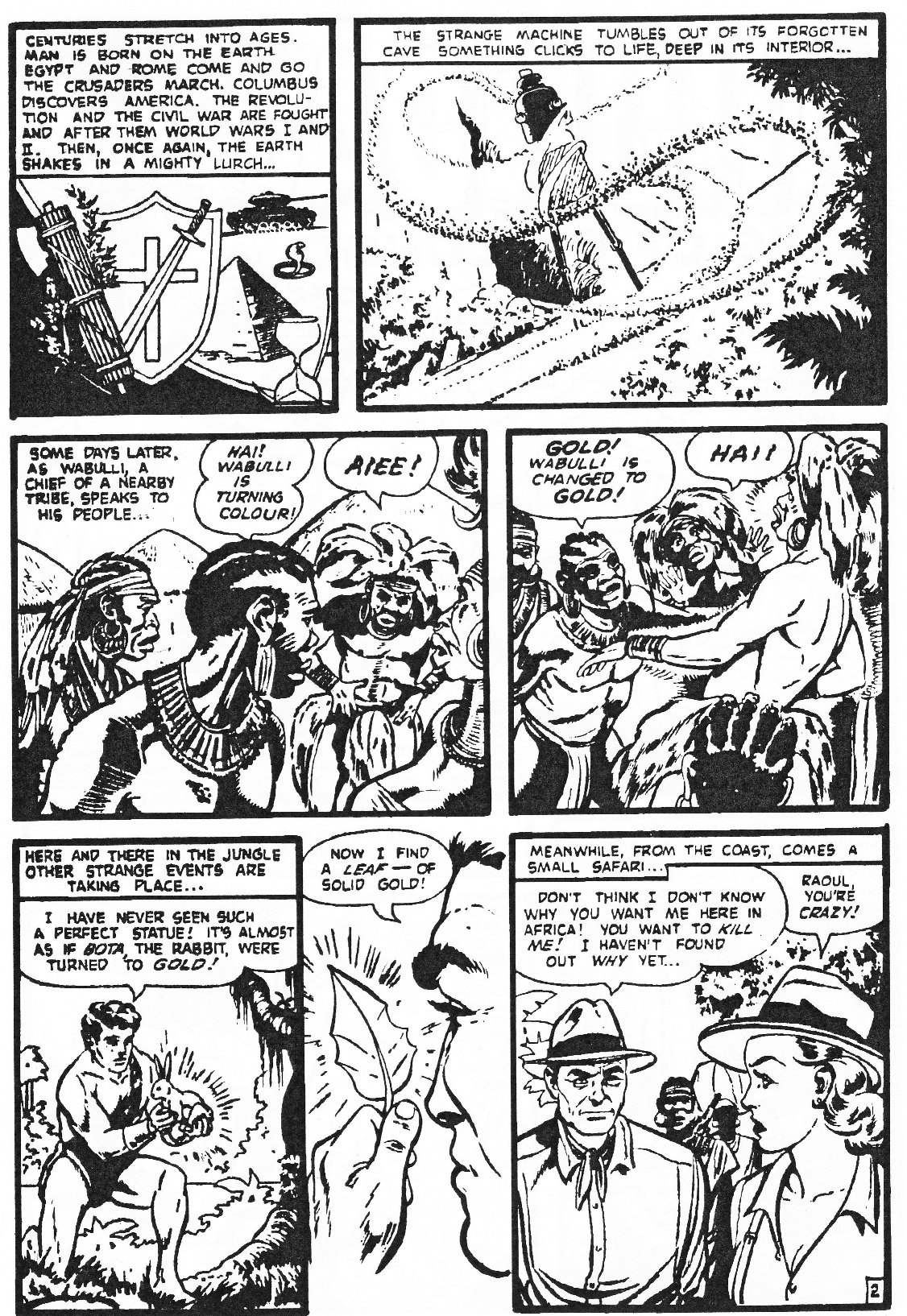 Read online Men of Mystery Comics comic -  Issue #81 - 52