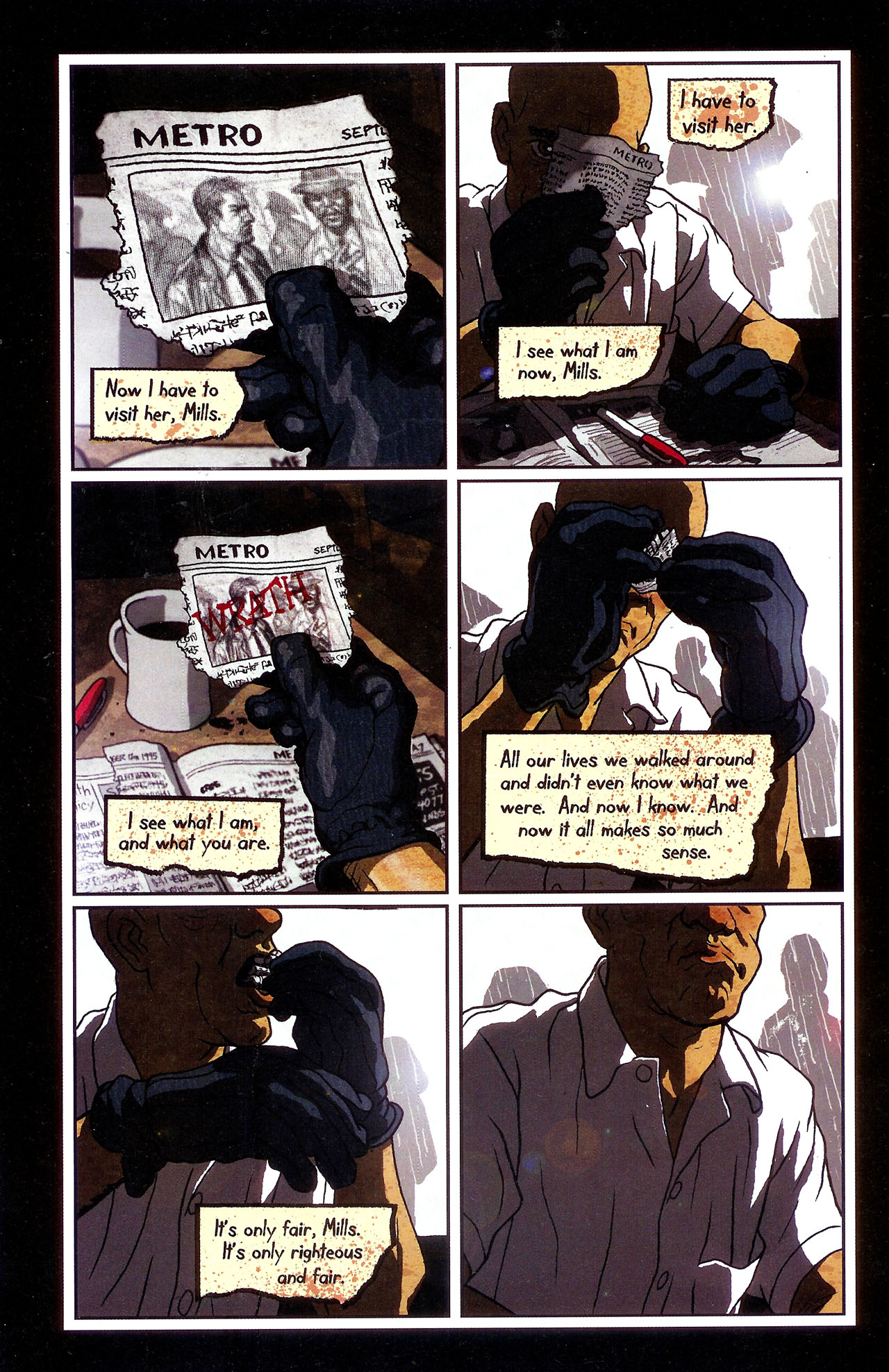 Read online Se7en comic -  Issue #6 - 20