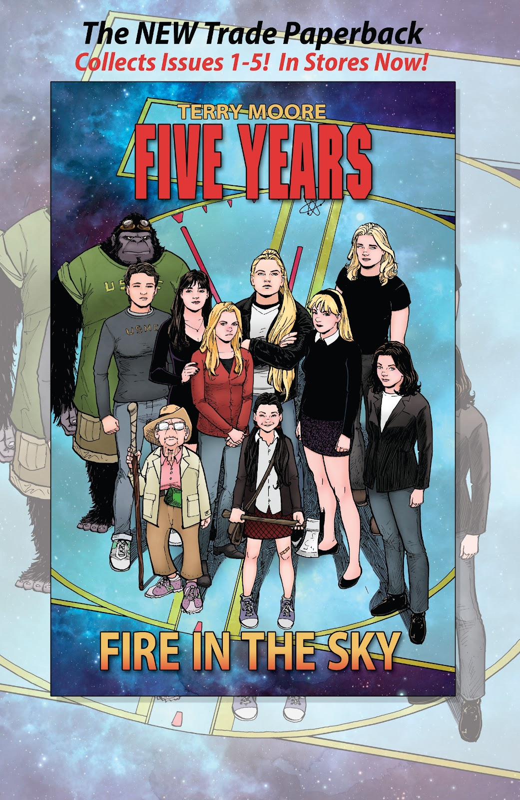 Read online Five Years comic -  Issue #8 - 27