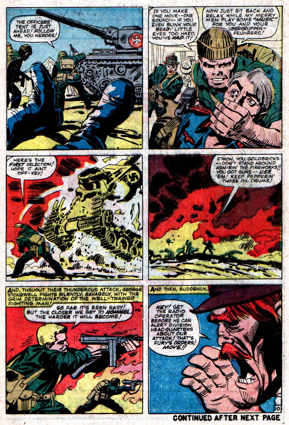 Read online Sgt. Fury comic -  Issue #6 - 13