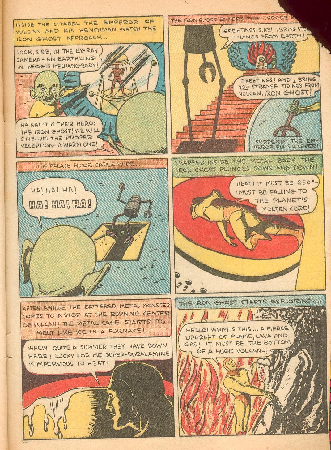 Read online Shadow Comics comic -  Issue #11 - 63
