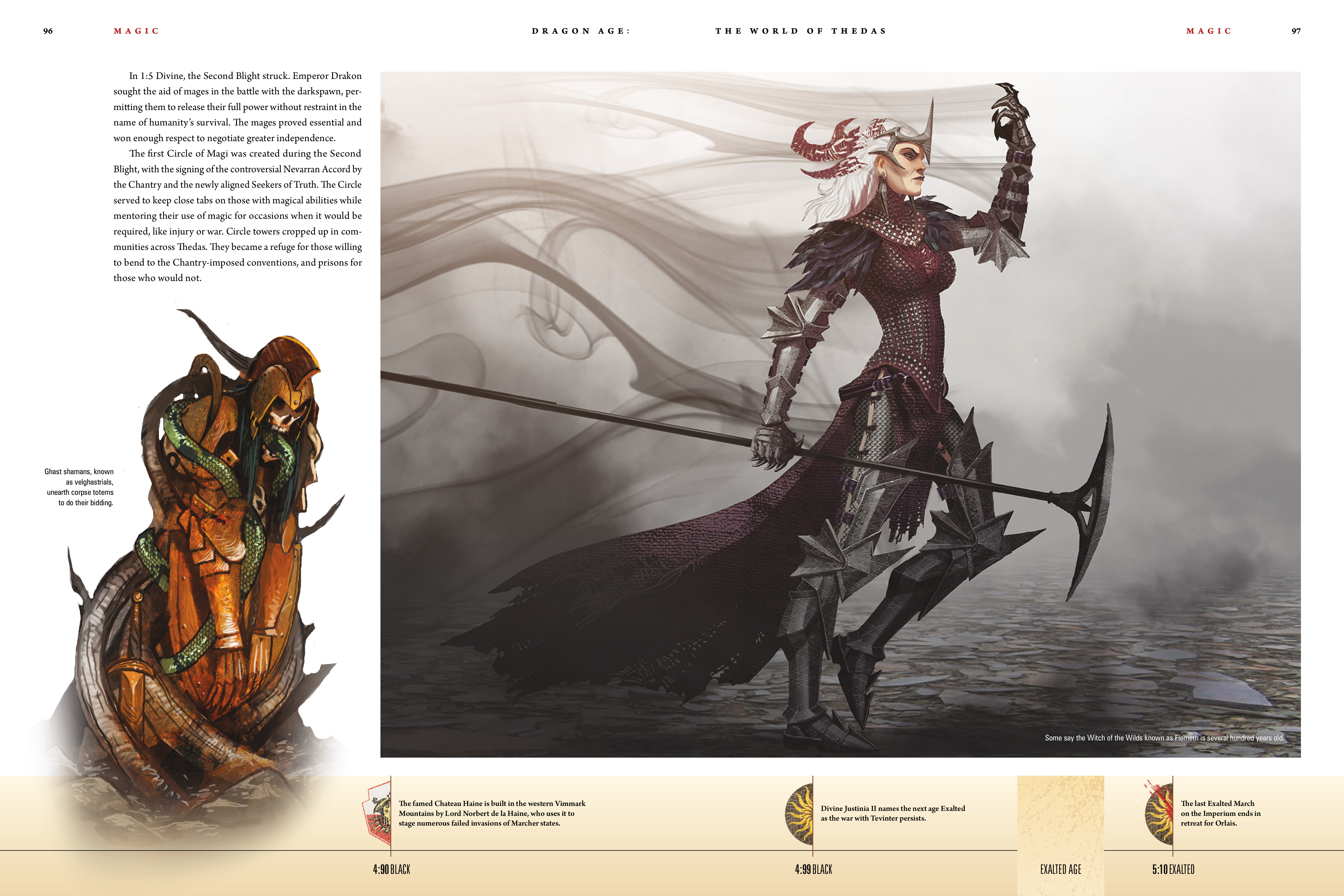 Read online Dragon Age: The World of Thedas comic -  Issue # TPB 1 - 78