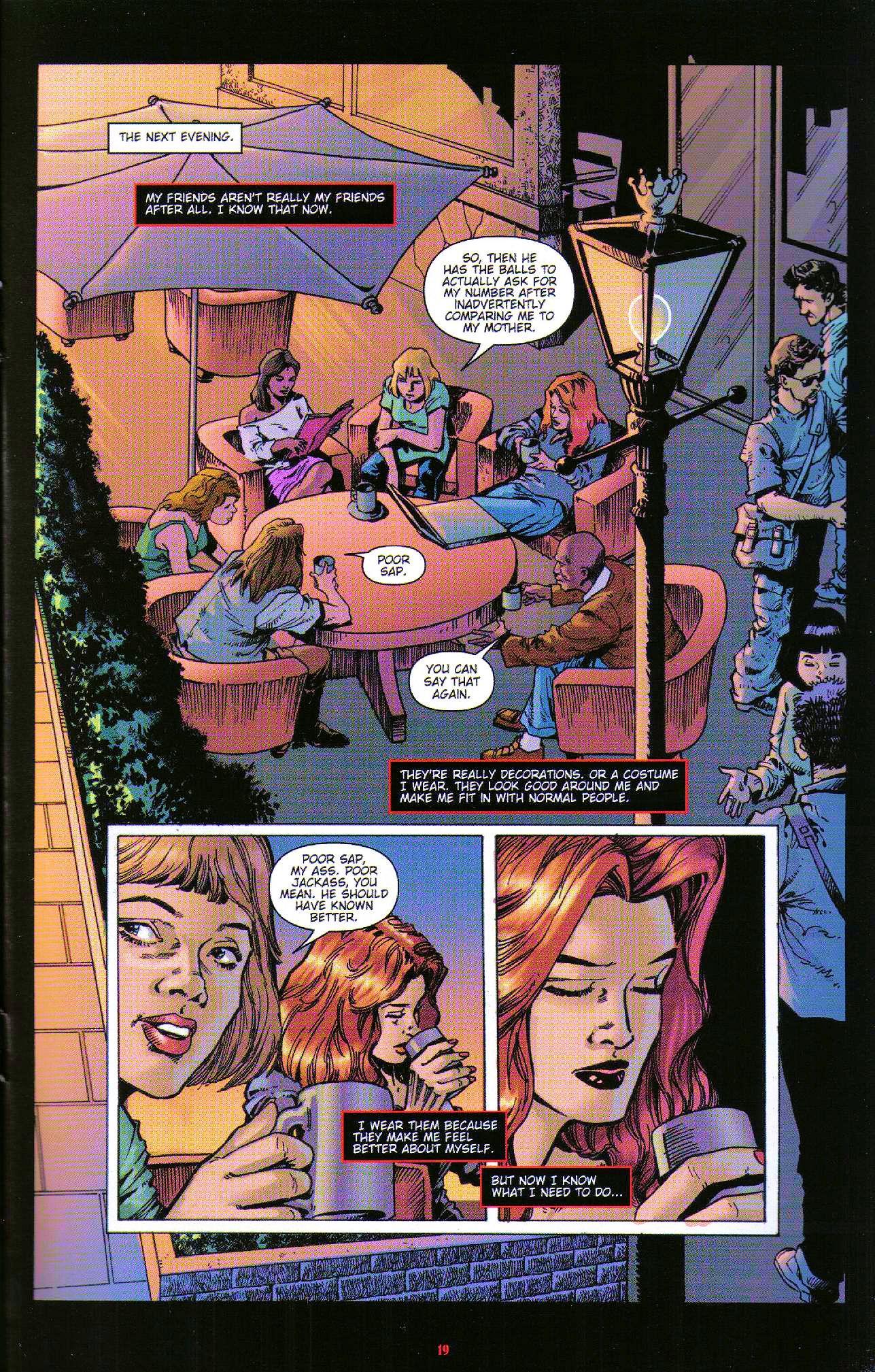 Read online Dominatrix comic -  Issue #6 - 21