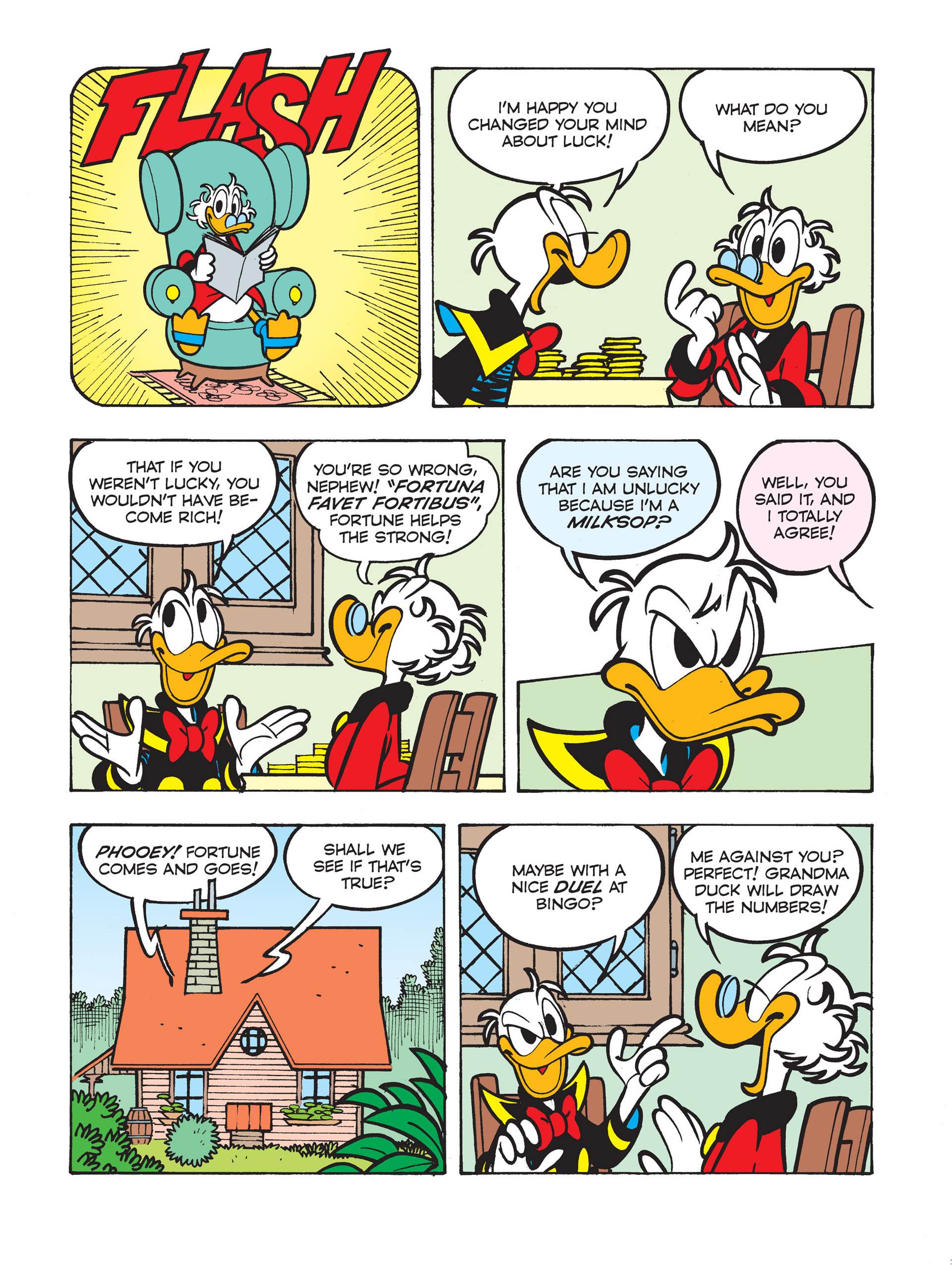 Read online All of Scrooge McDuck's Millions comic -  Issue #5 - 25