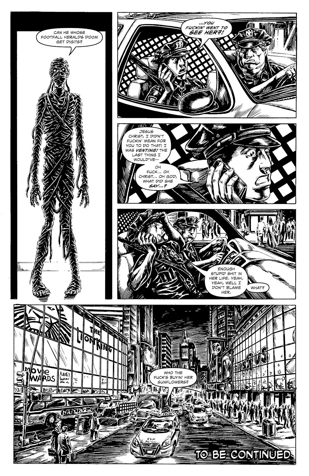 Read online Alan Moore's Cinema Purgatorio comic -  Issue #17 - 22