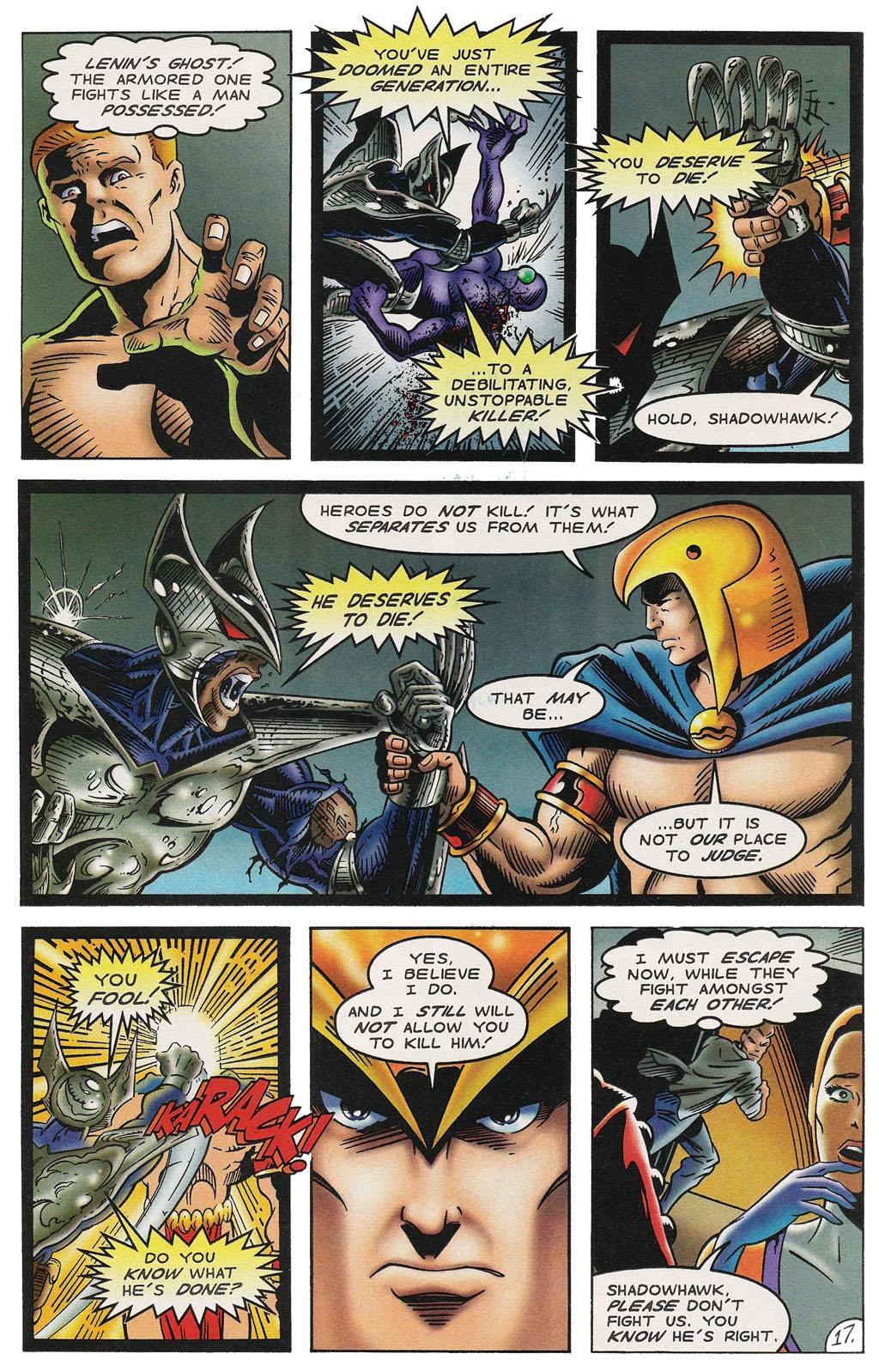 Read online ShadowHawk comic -  Issue #14 - 21