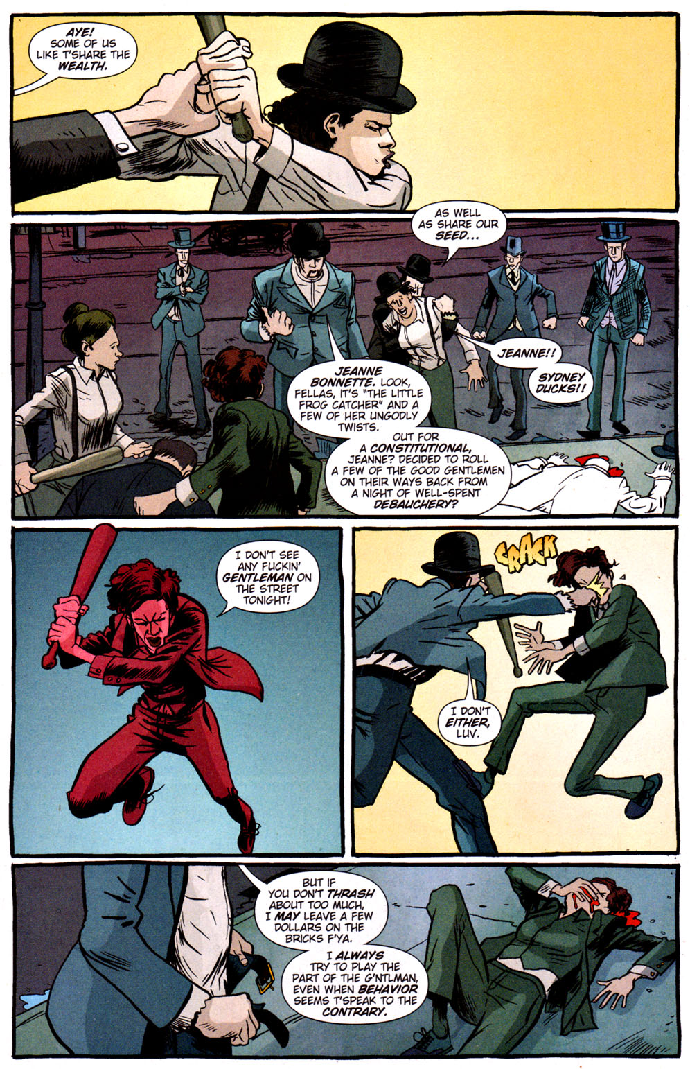 Read online Caper comic -  Issue #3 - 8