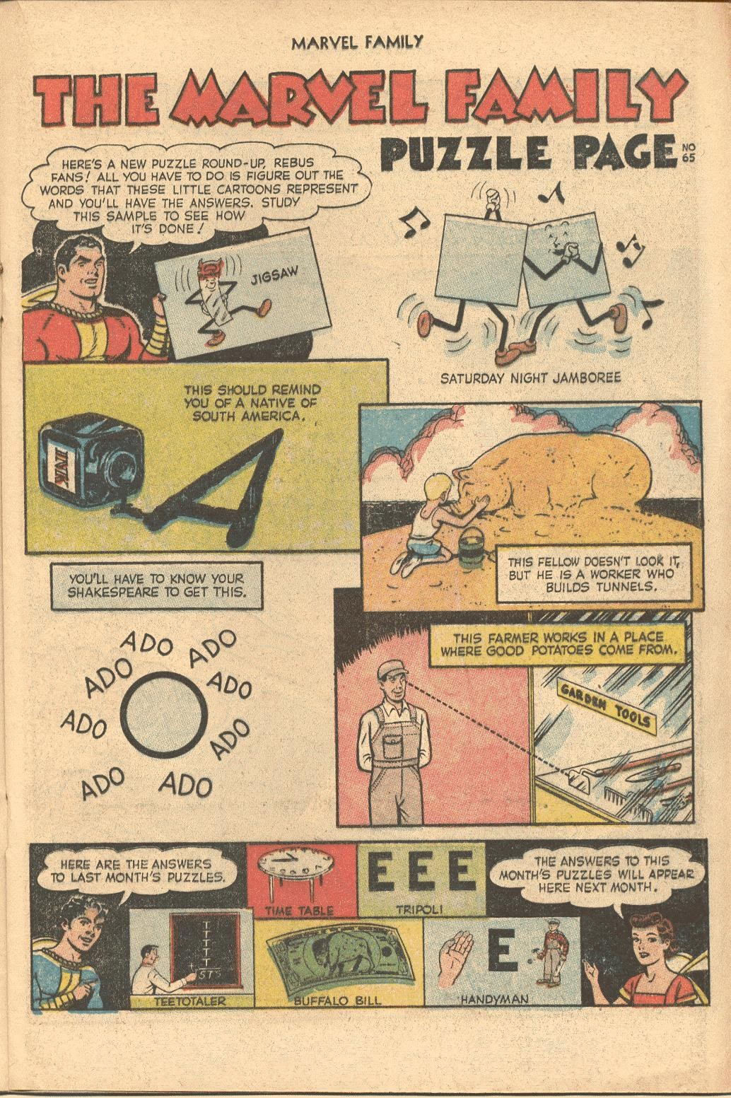 The Marvel Family issue 82 - Page 17