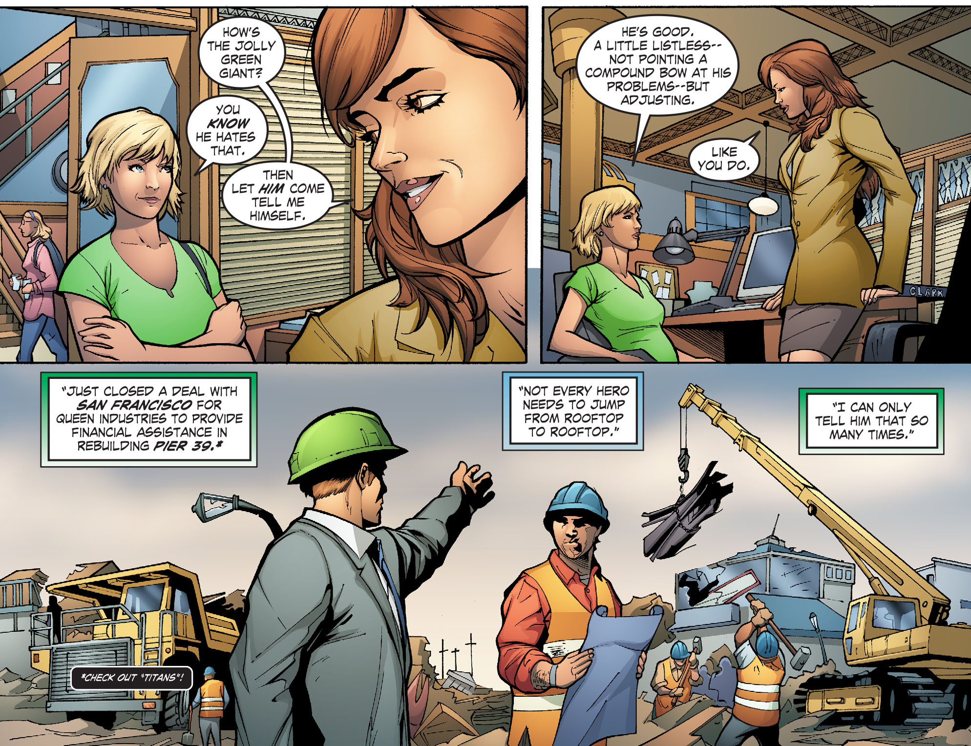 Read online Smallville: Alien comic -  Issue #3 - 4