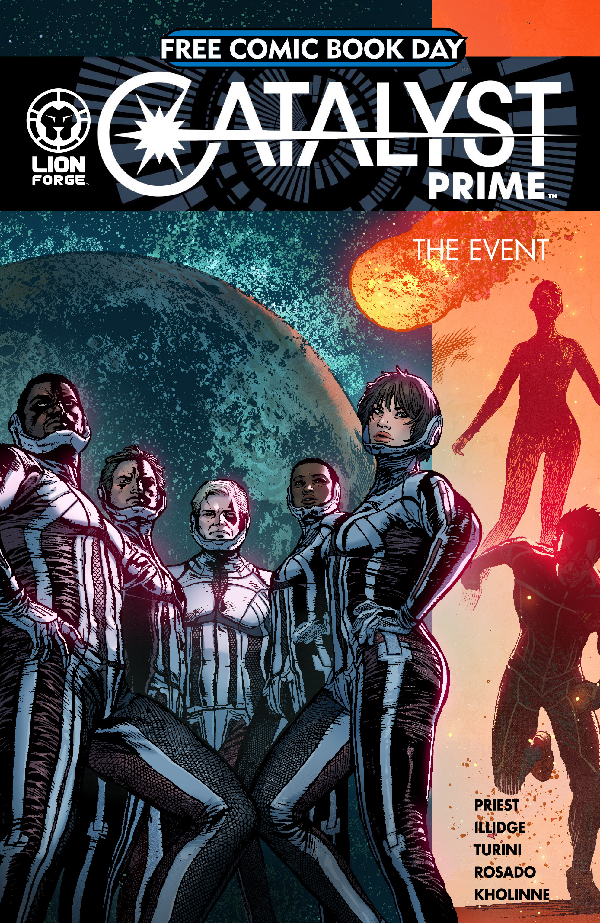 Read online Free Comic Book Day 2017 comic -  Issue # Catalyst Prime - The Event - 1