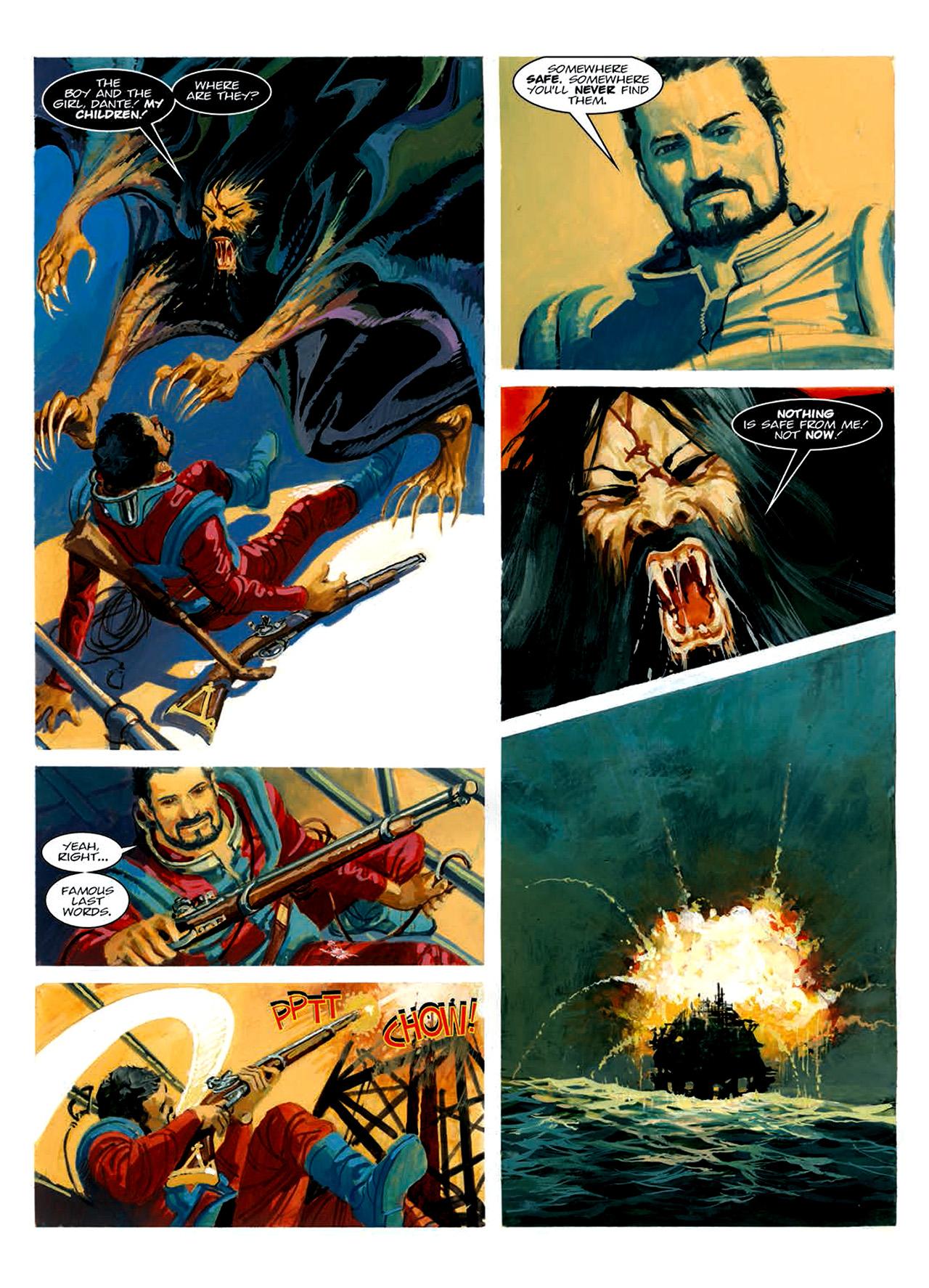 Read online Nikolai Dante comic -  Issue # TPB 6 - 197