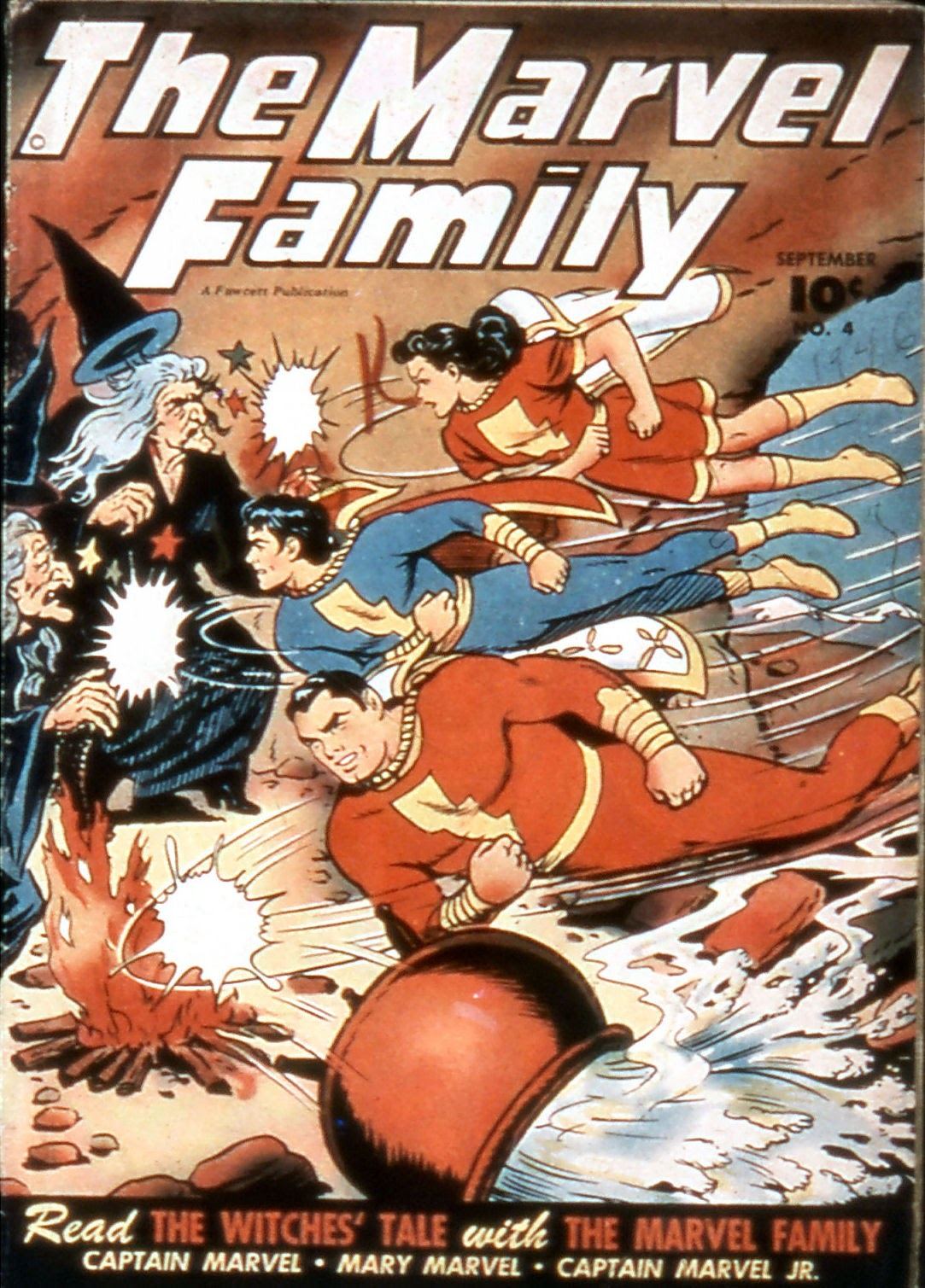 The Marvel Family 4 Page 1