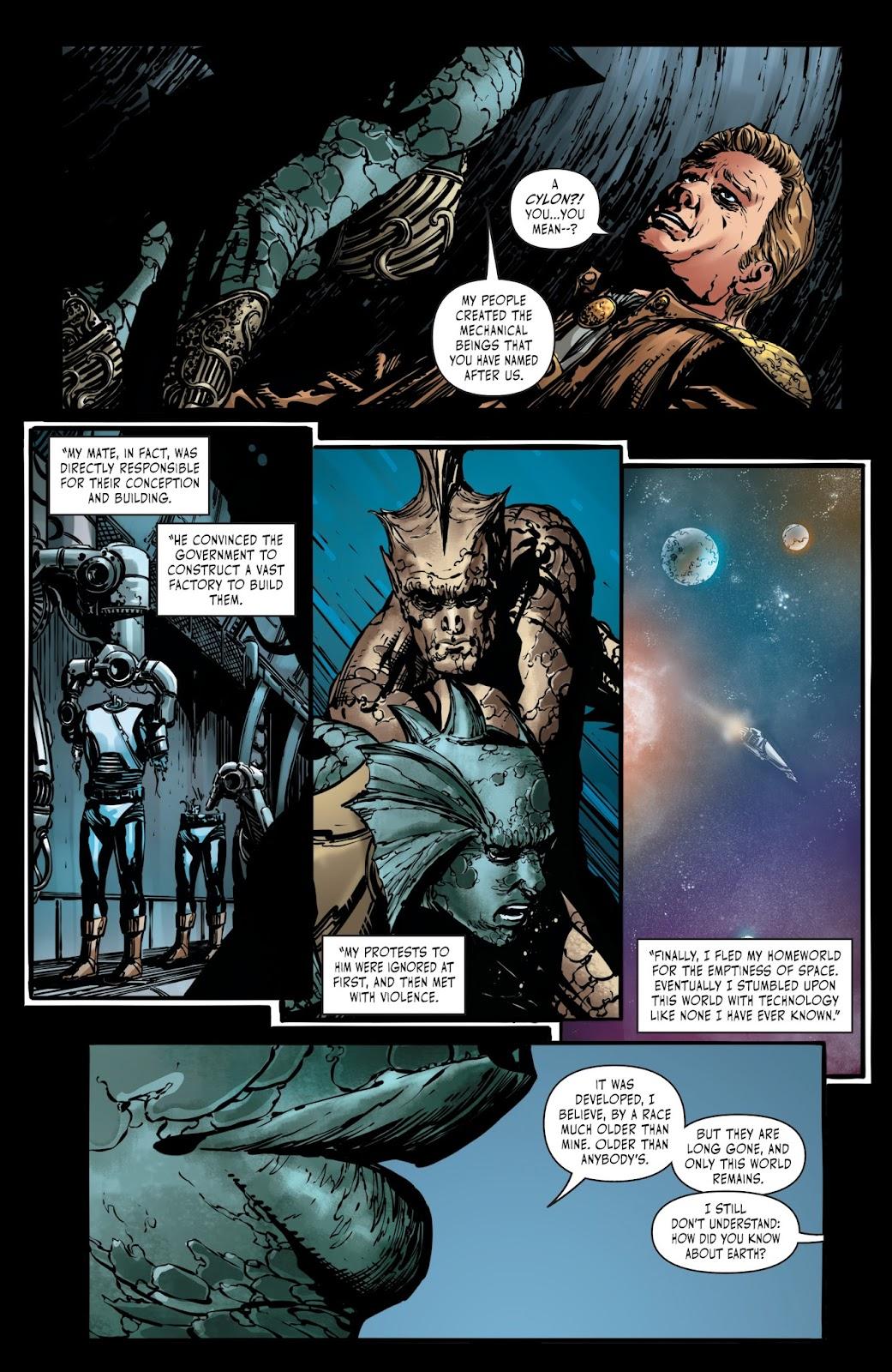 Battlestar Galactica BSG vs. BSG issue 1 - Page 17