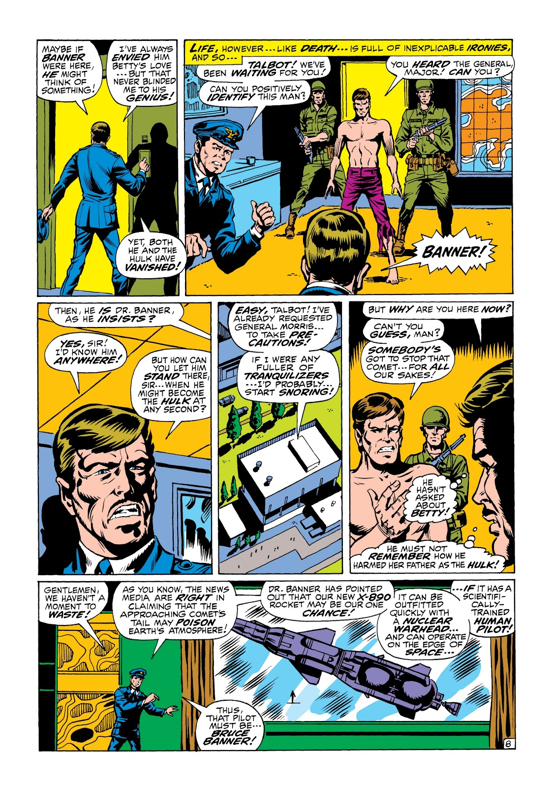 Read online Marvel Masterworks: The Incredible Hulk comic -  Issue # TPB 6 (Part 1) - 80