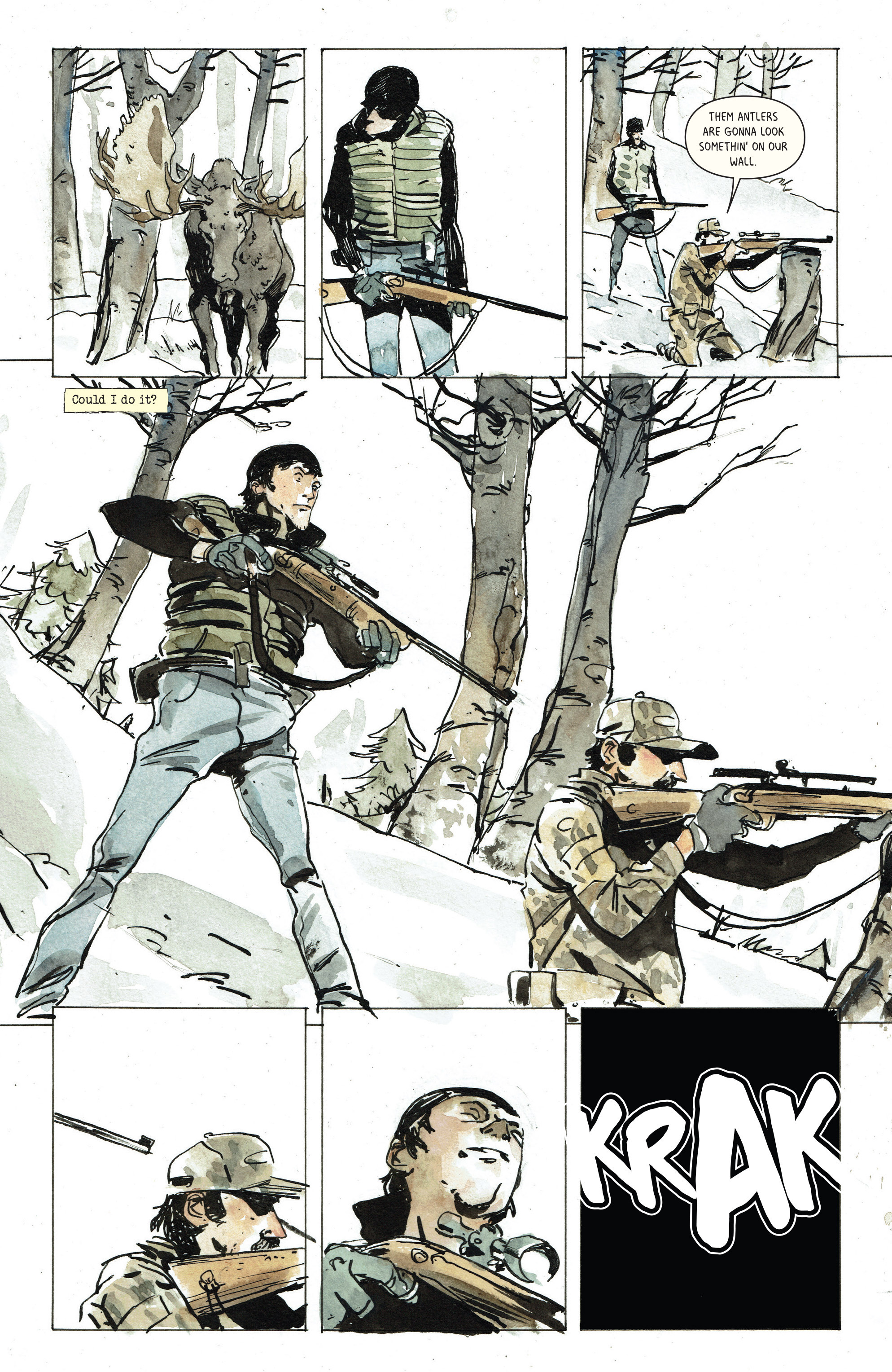 Read online Snow Blind comic -  Issue #3 - 18