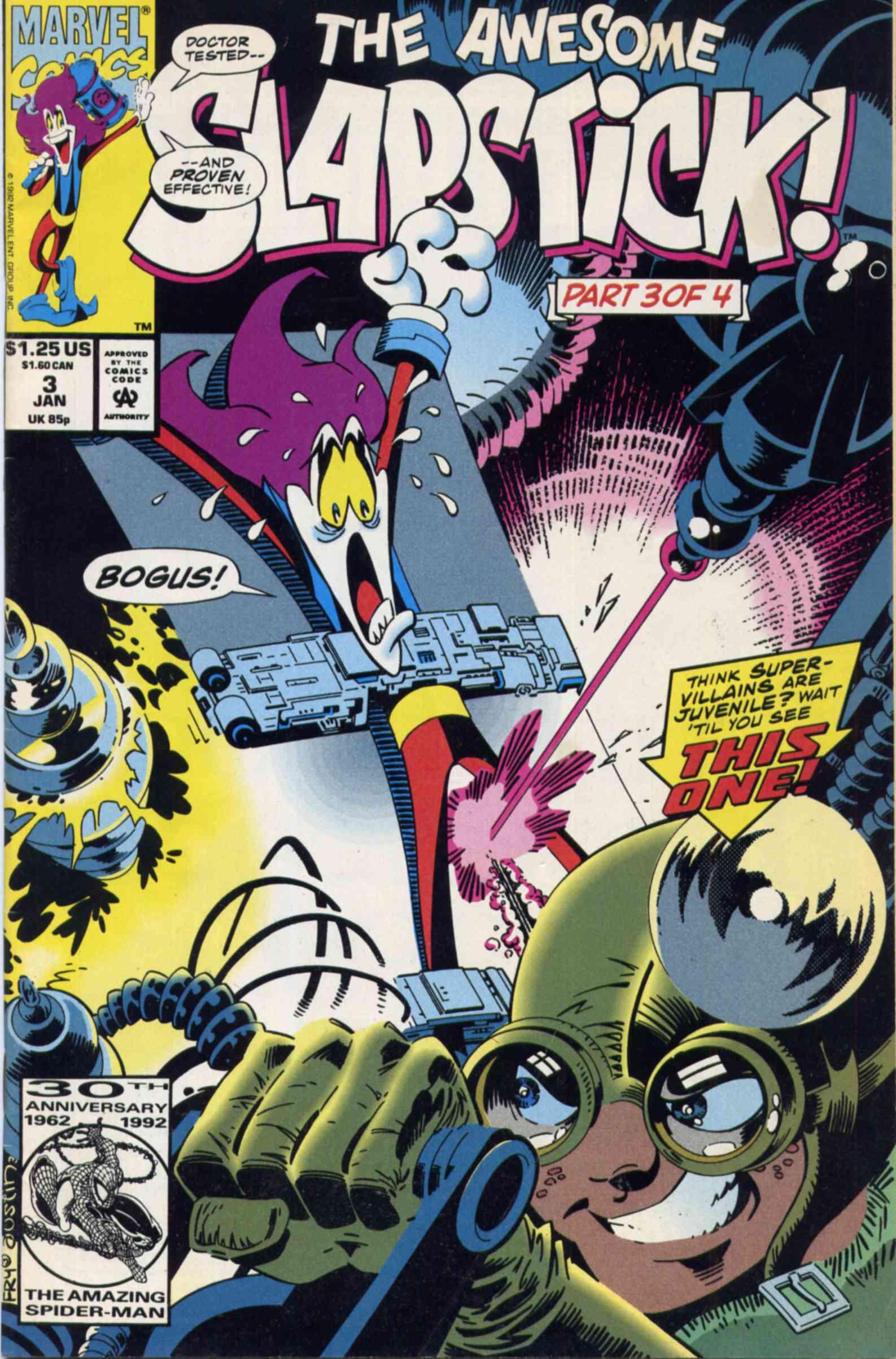 Read online Slapstick comic -  Issue #3 - 1